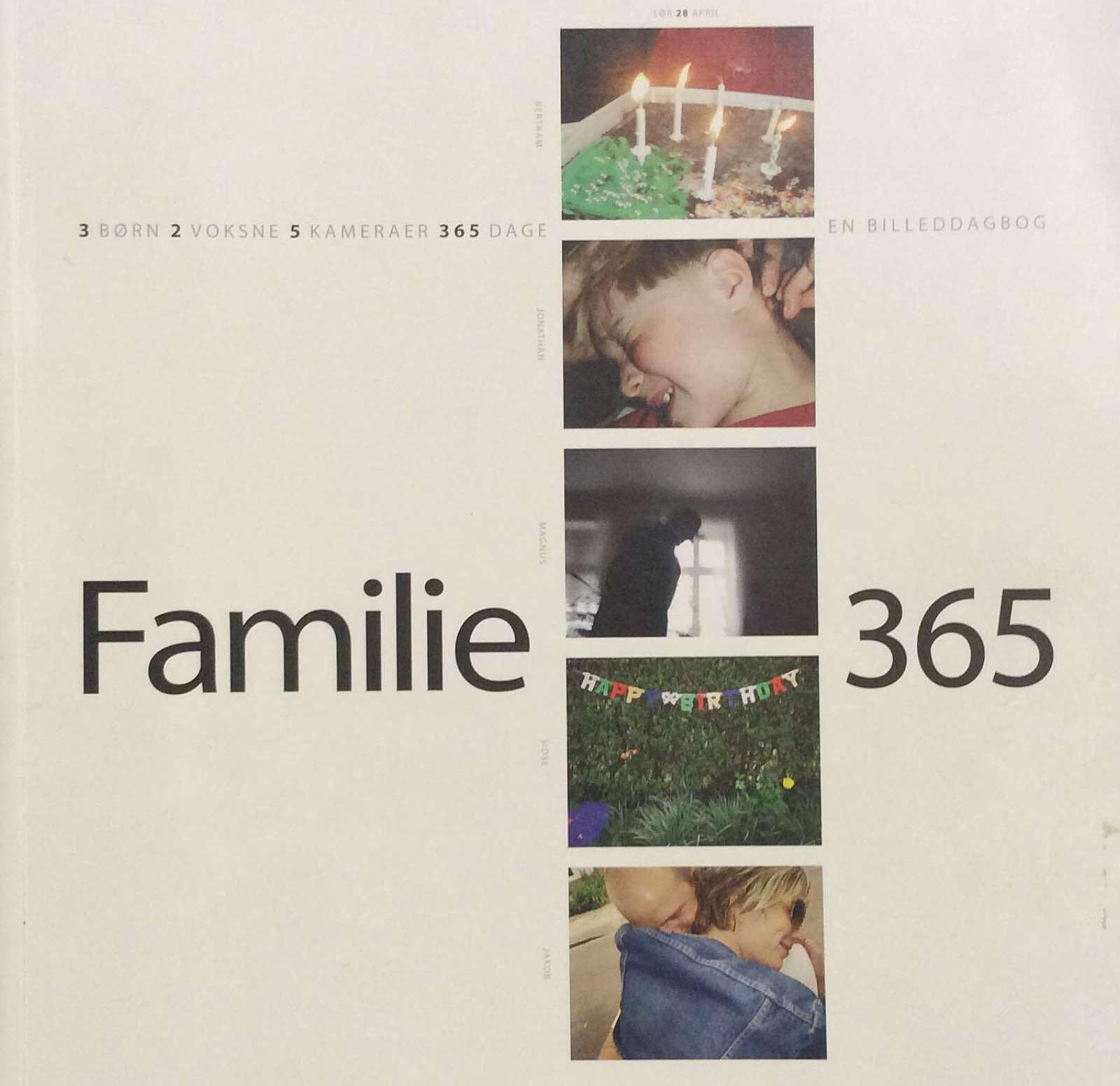 Carlsen, Jacob. Familie 365