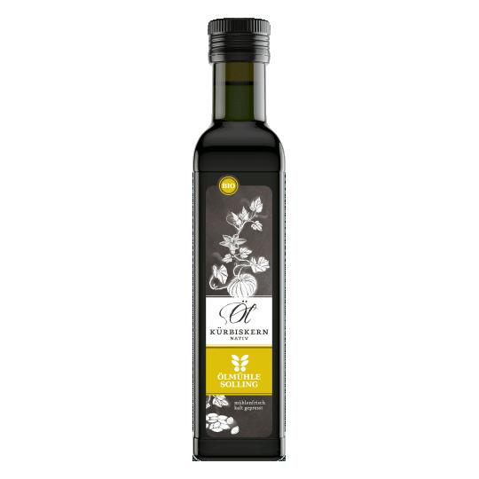 Kürbiskernöl nativ BIO 100 ml