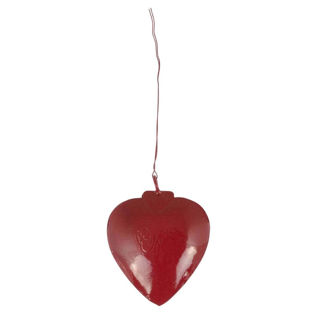 IB Laursen Anhänger Herz Metall rot