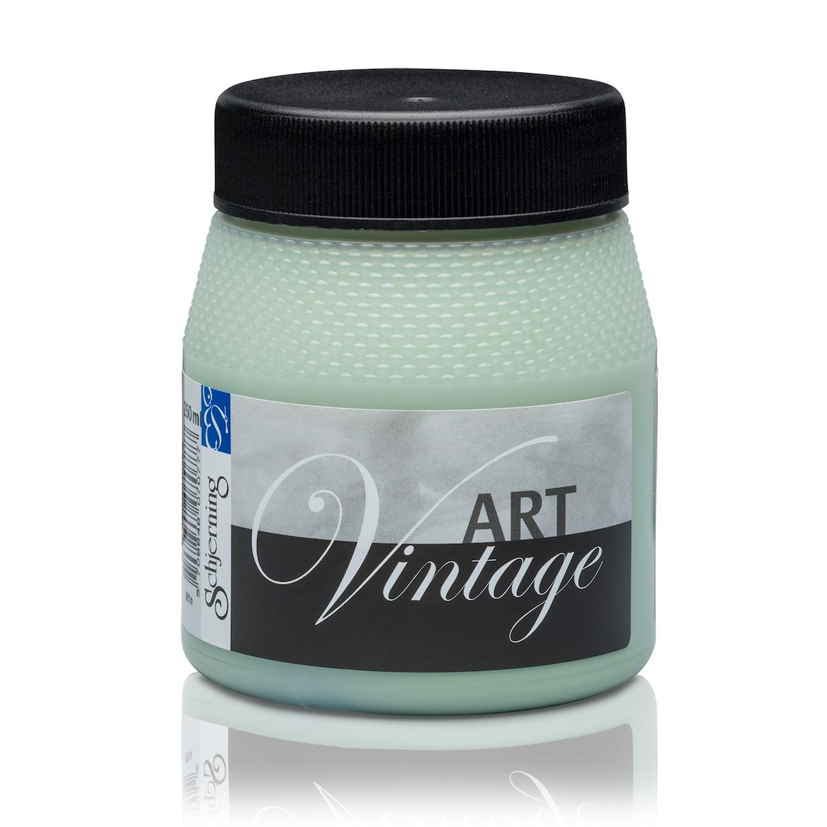 Schjerning Kalkfarbe Art Vintage staubiges Grün