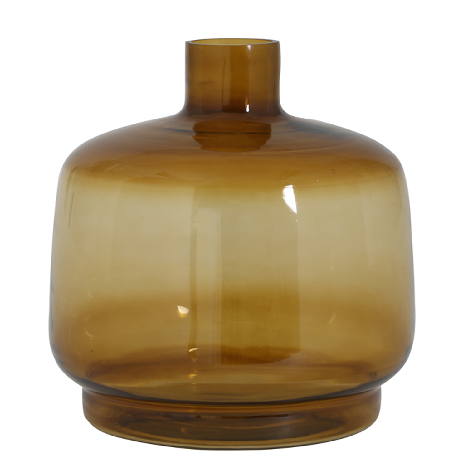 1362 Smoked ochre vase large