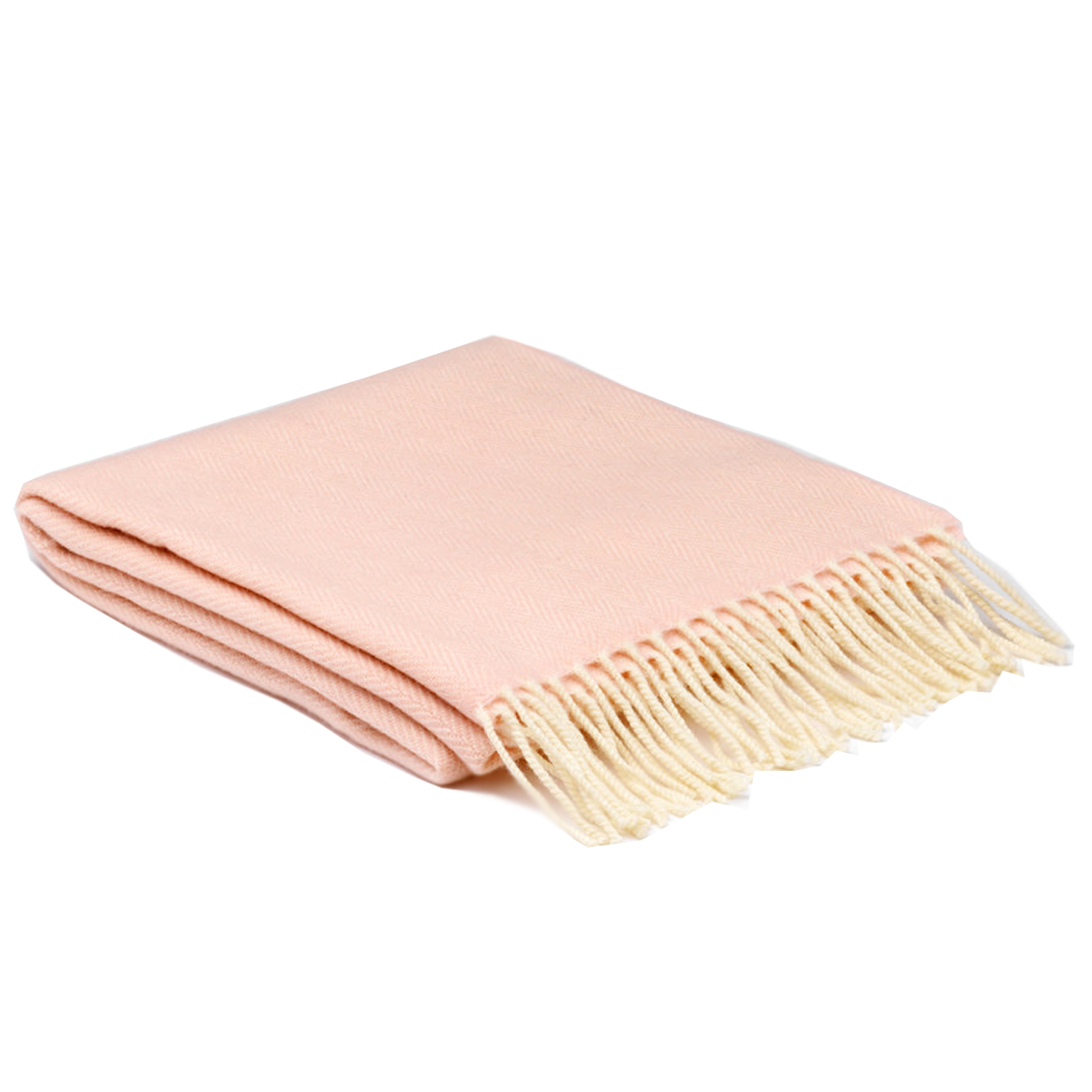 1021 McNutt Cloud Pink Cashmere/ lambswool wrap