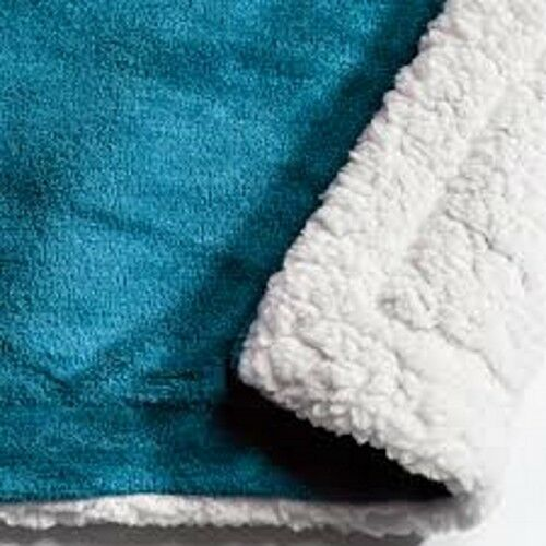 00516 Sherpa throw teal special offer