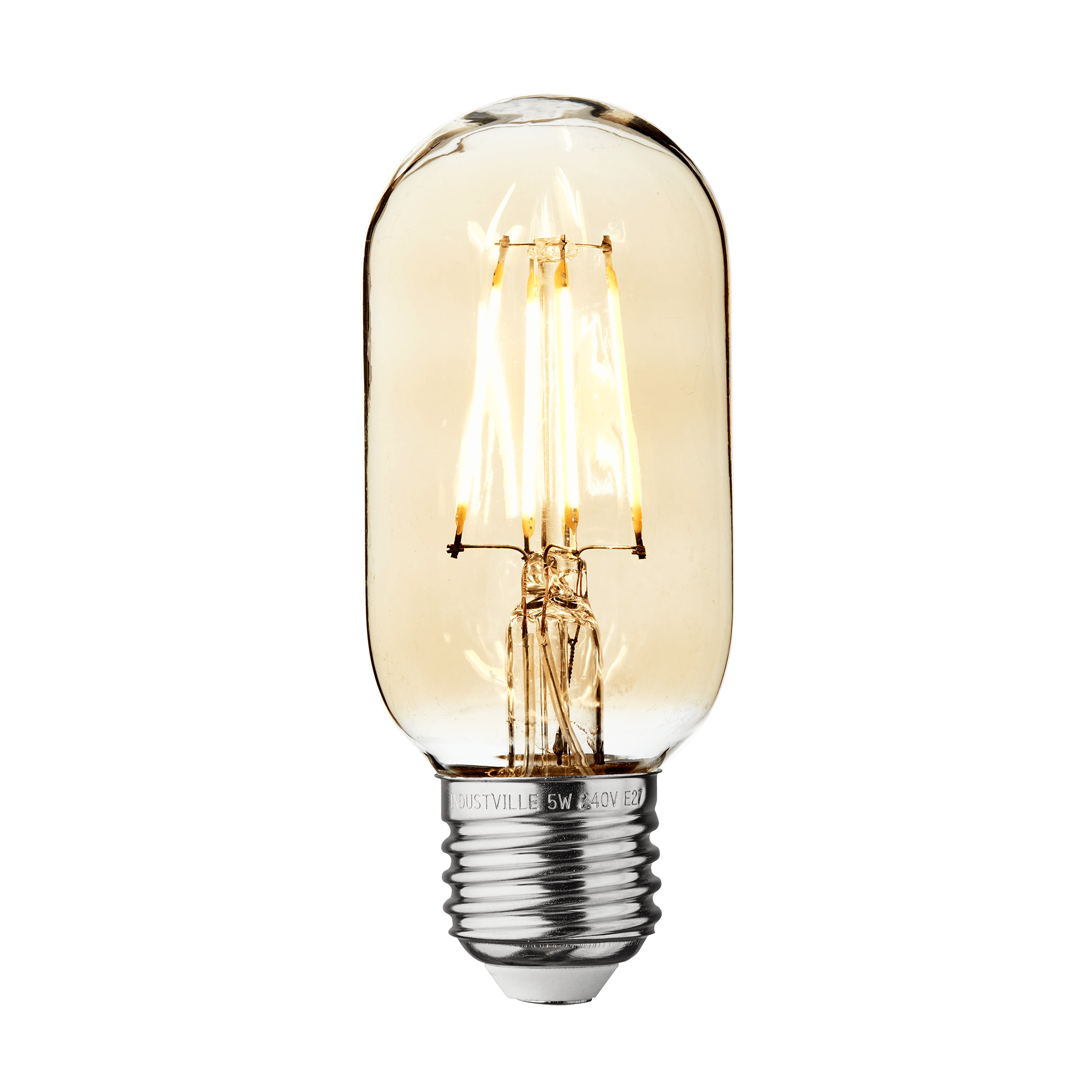 0101 Industville Amber small cylinder LED bulb 5W
