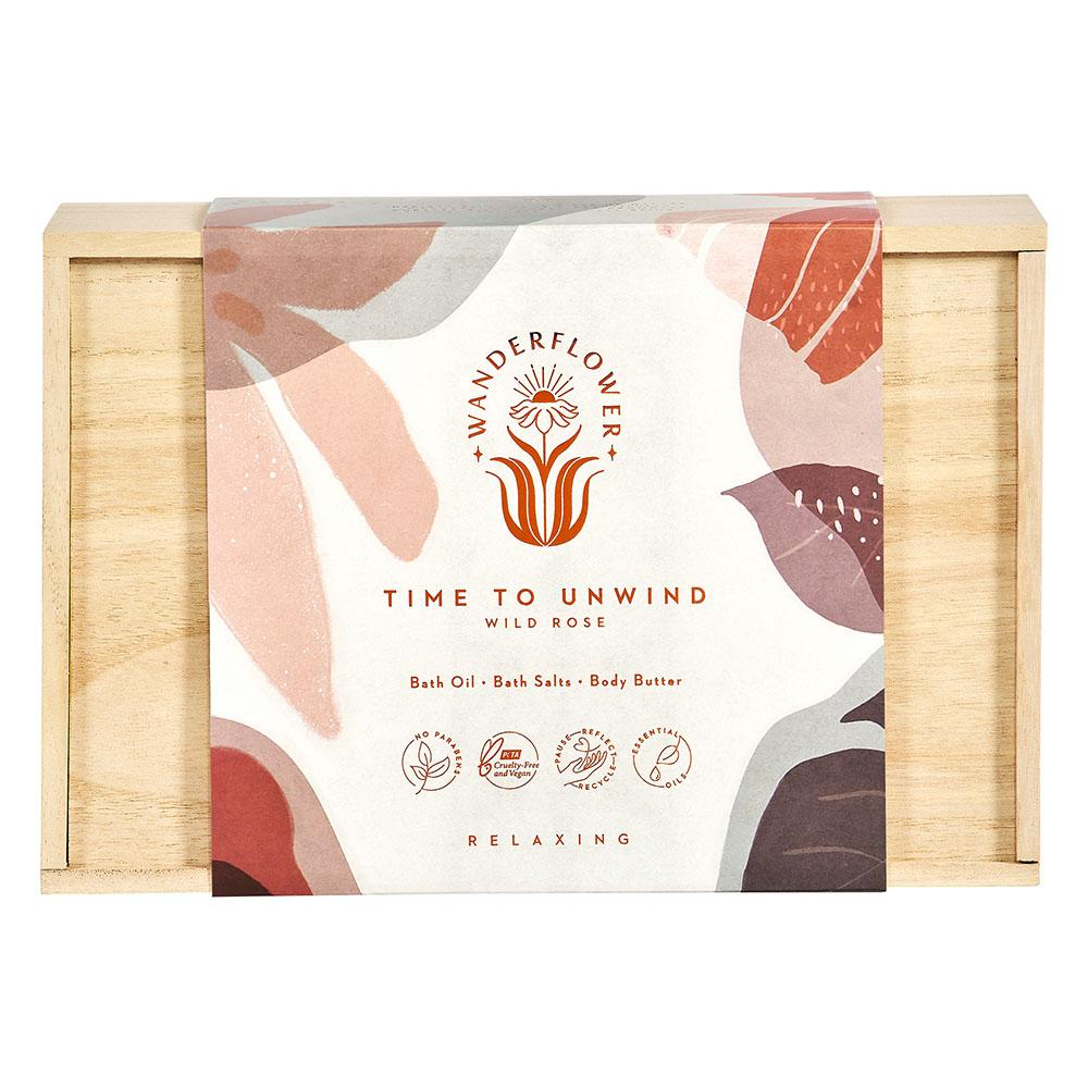 1614 Wanderflower time to unwind gift set
