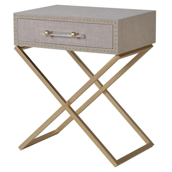 1476 linen side table