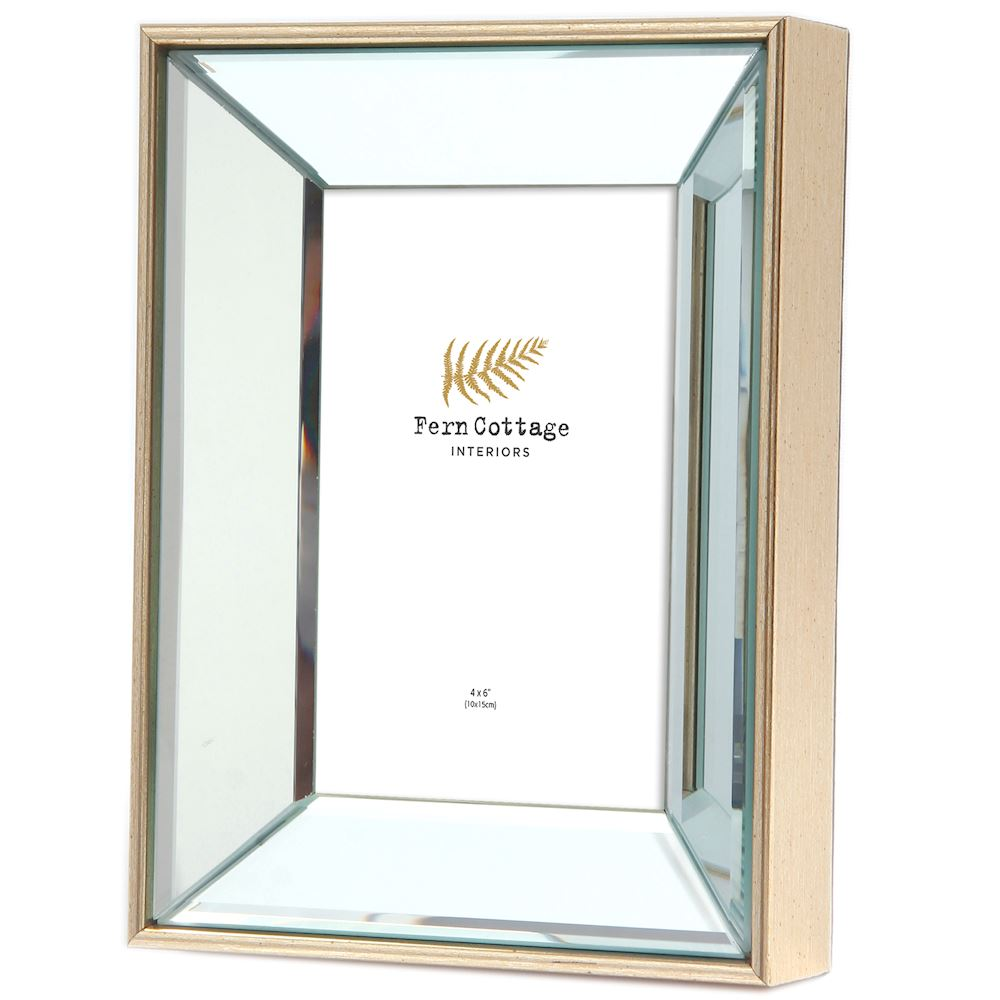 1265 4x6 Mirrored Photoframe