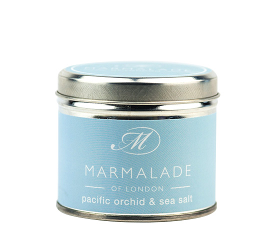 00173 Pacific Orchid & Sea Salt tin candle