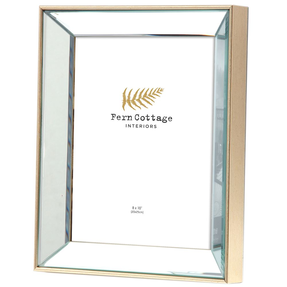 1265 8x10 Mirrored Photoframe