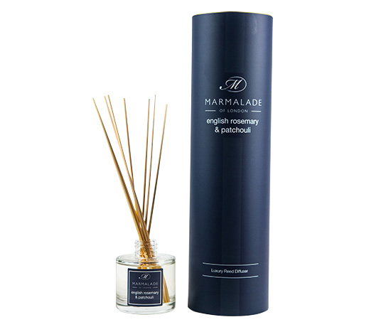 00175 English Rosemary & Patchouli reed diffuser