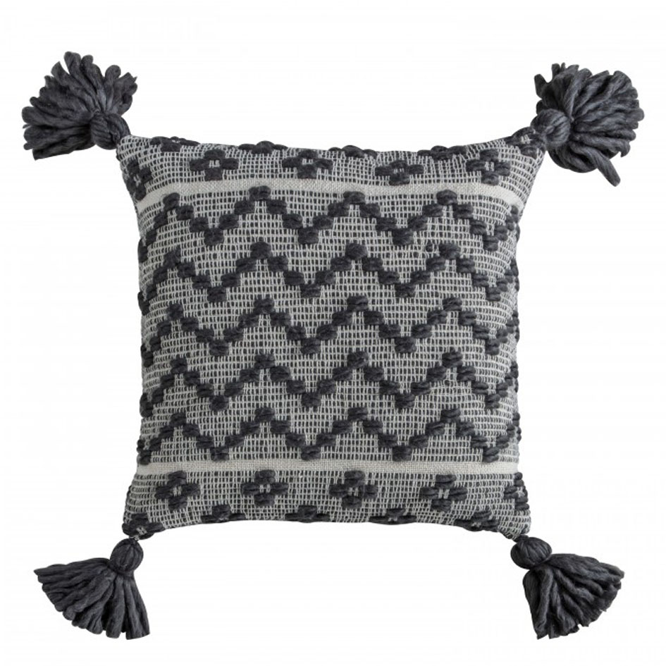 0023 Boho monochrome cushion