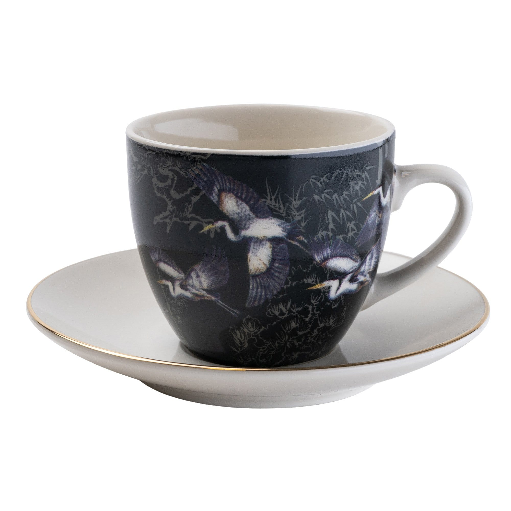 2080 set of 4 teacups and saucers gift