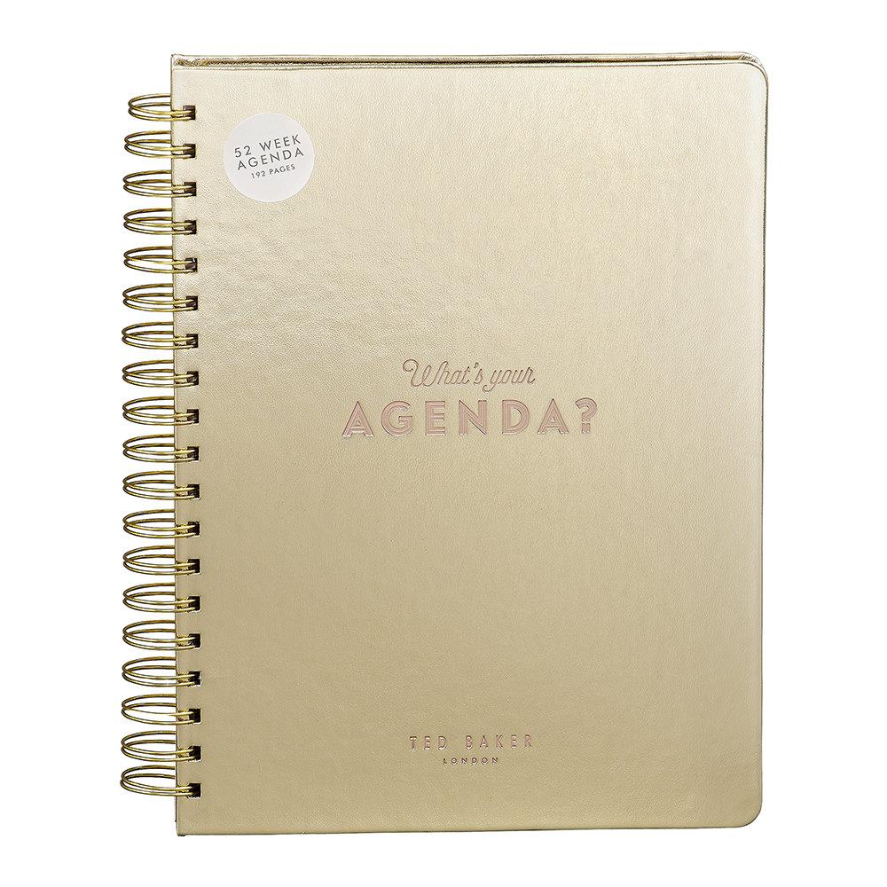 1012 Ted Baker agenda planner