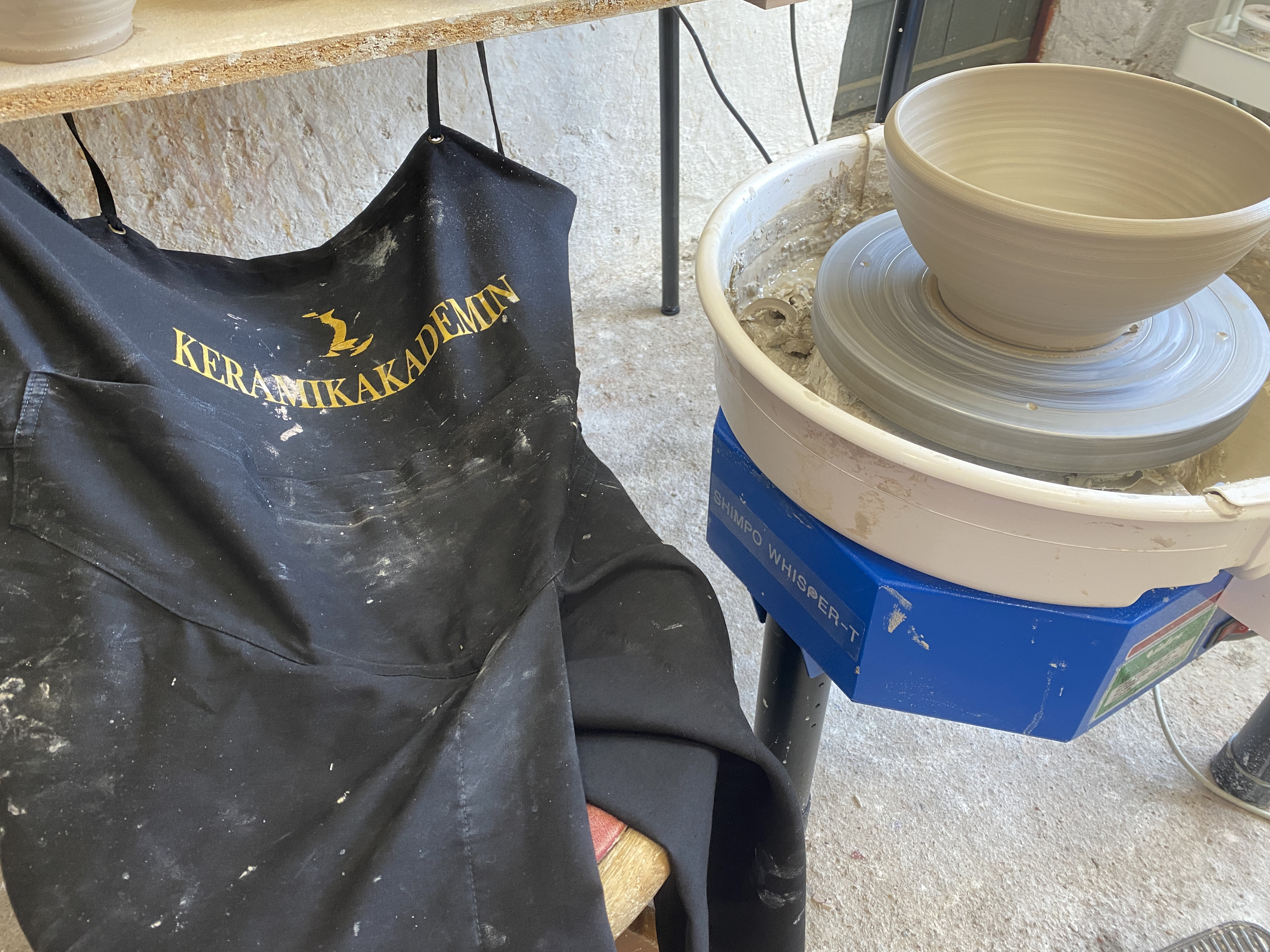 KeramikAkademins drejförkläde