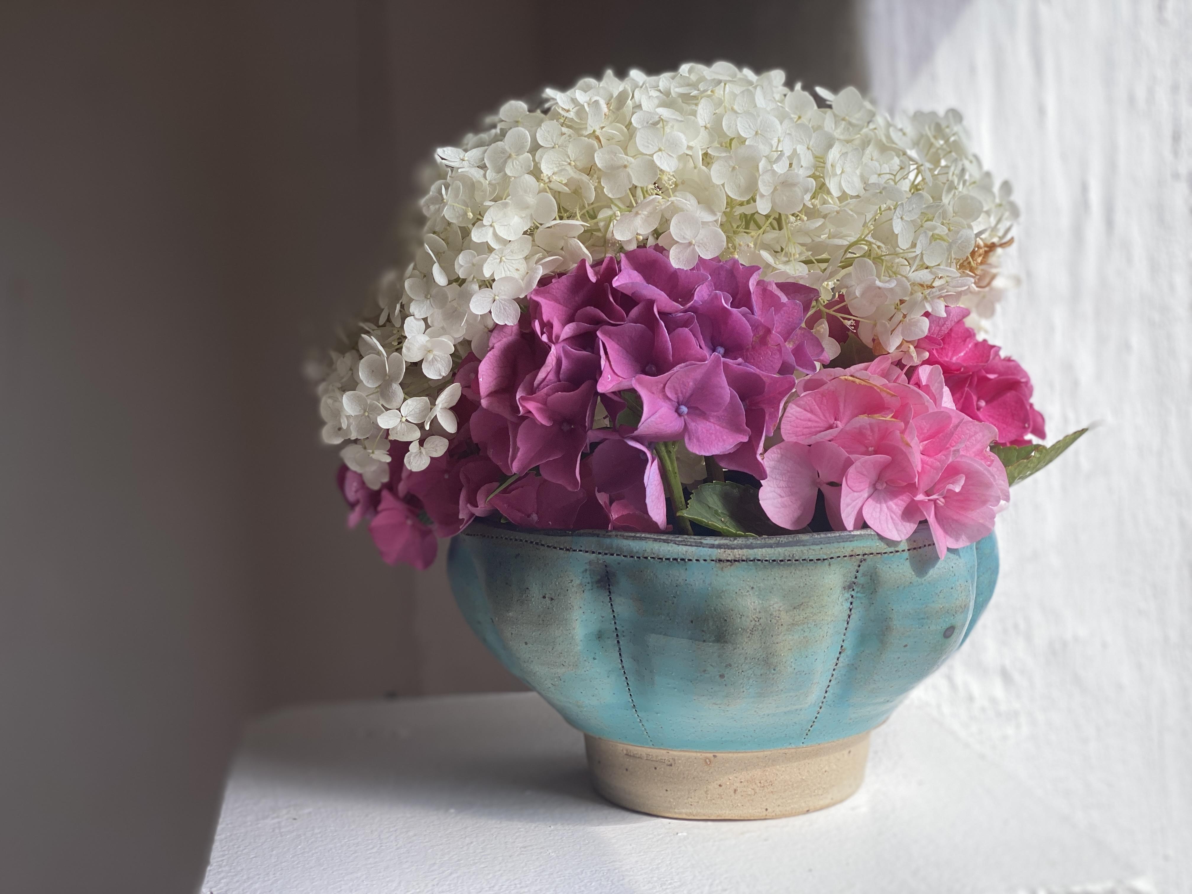 Blomsterskål