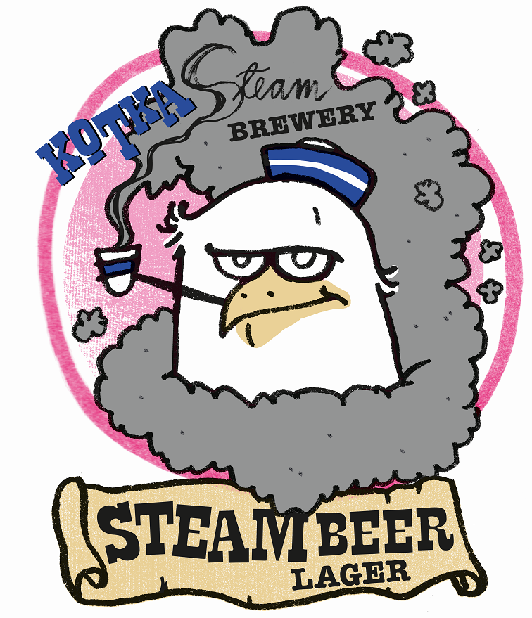 Steam Beer Lager 5% 30L Keykeg