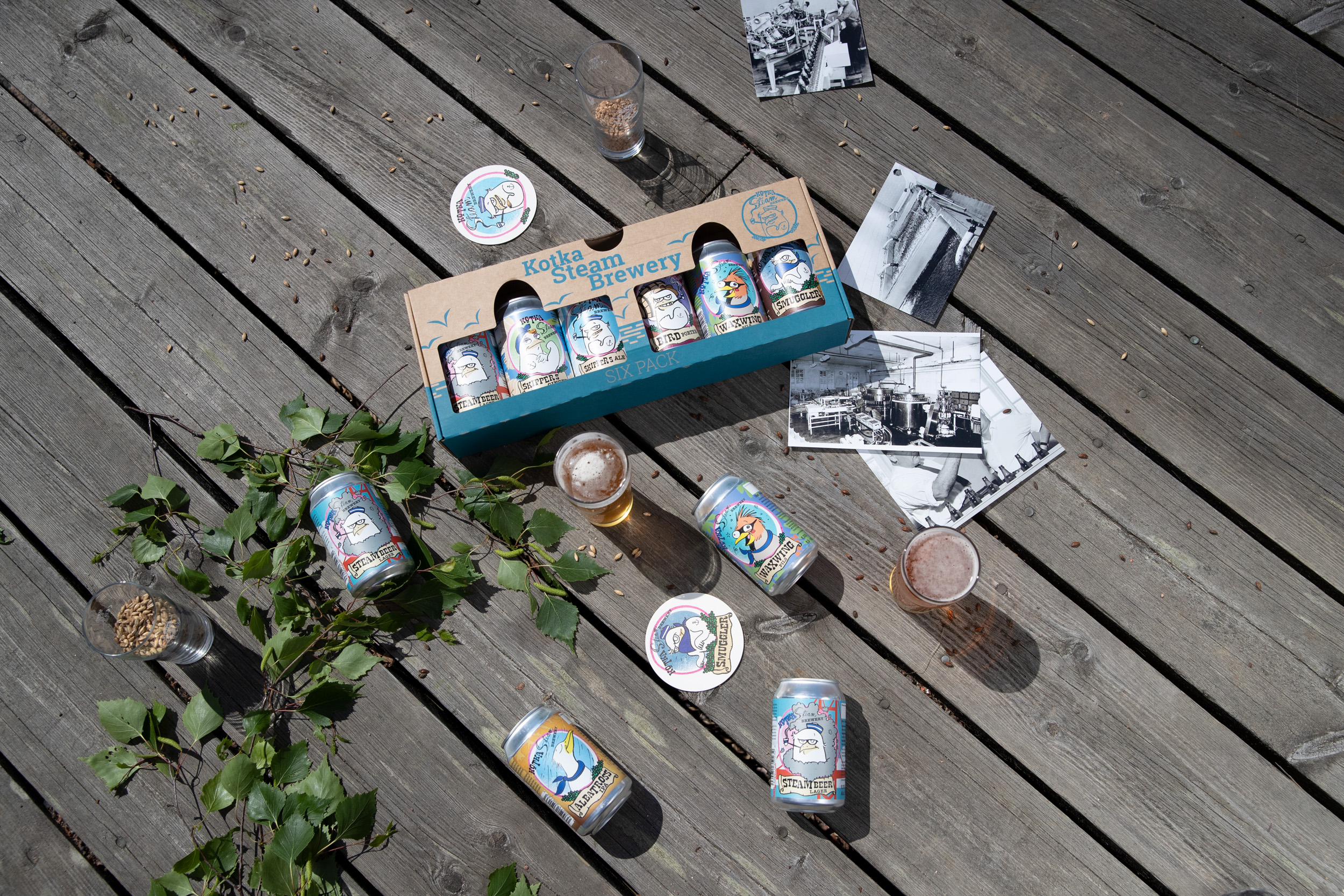 Six Pack Waxwing pils
