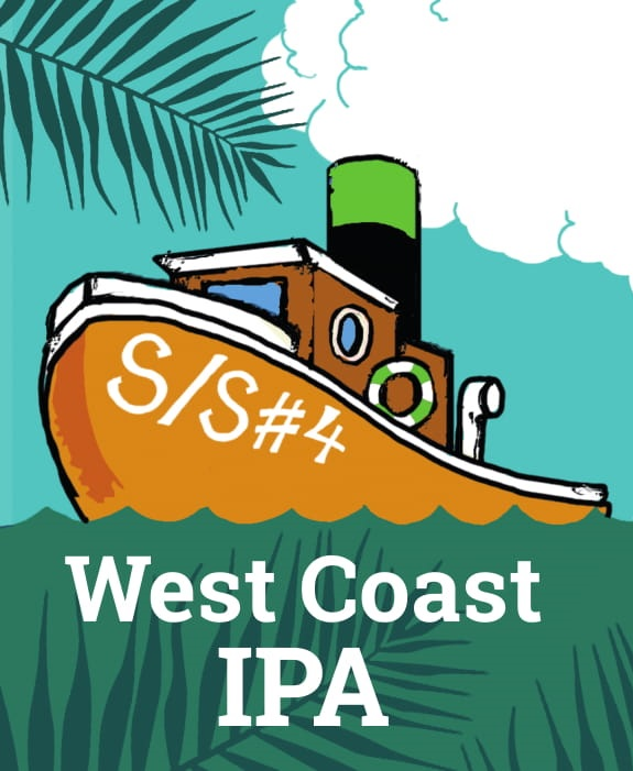 S/S #4 West Coast IPA 6,2% 0,33tlk