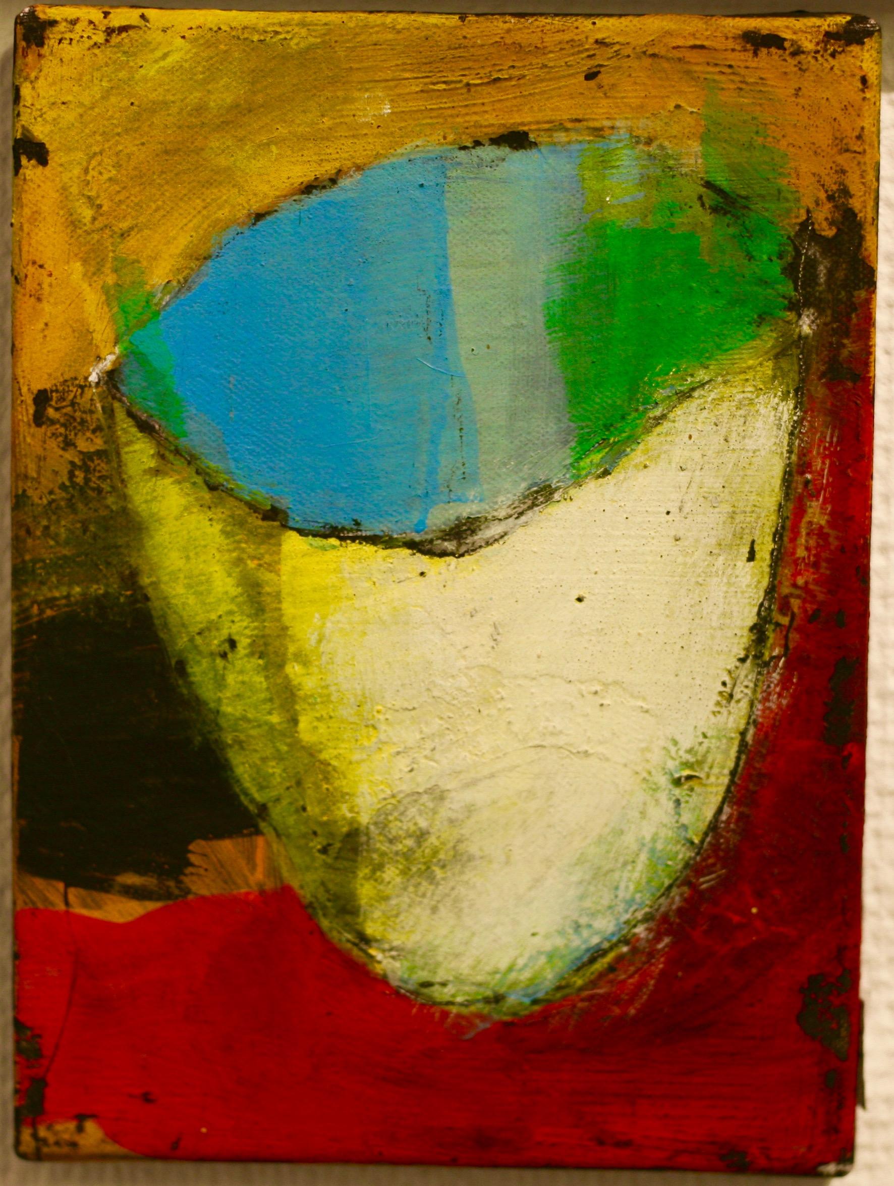Inga Björstedt - Rice bowl (Risskål), oil tempera painting