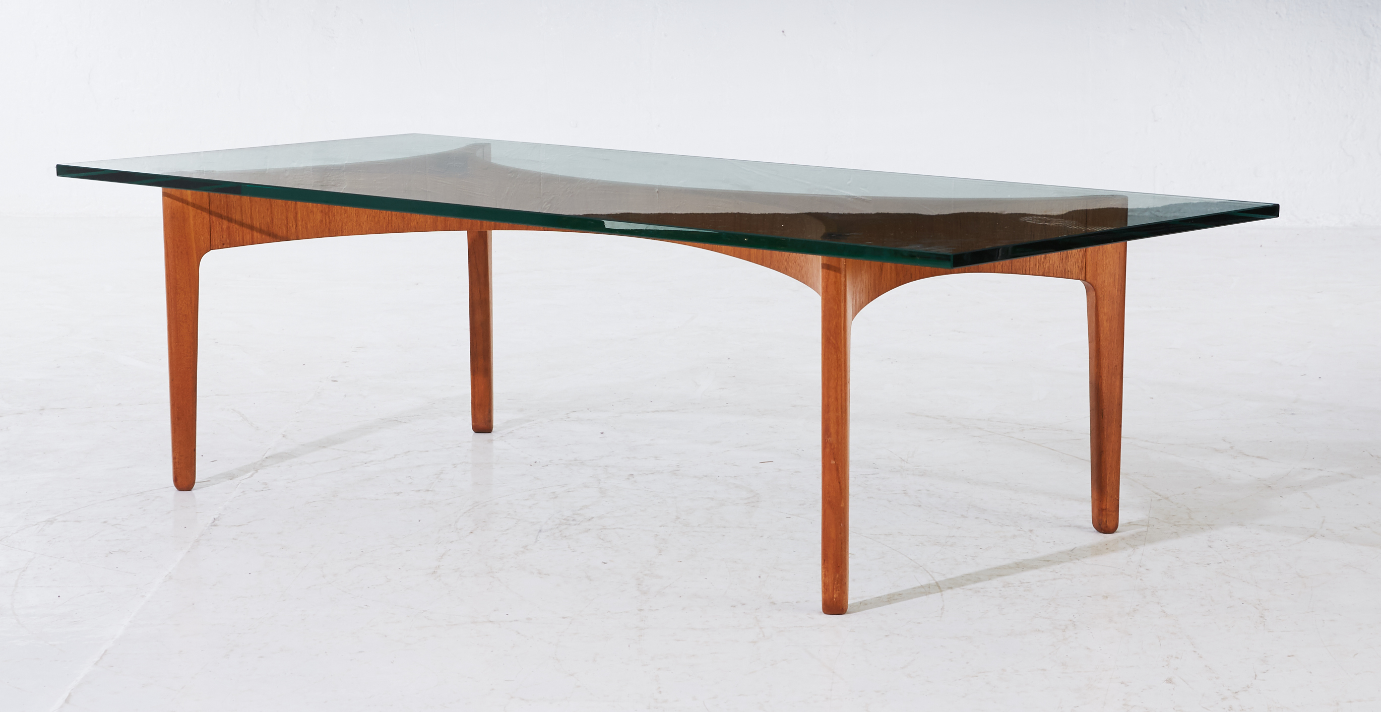 Sculptural coffee table by Sven Ellekaer for Christian Linneberg, Denmark