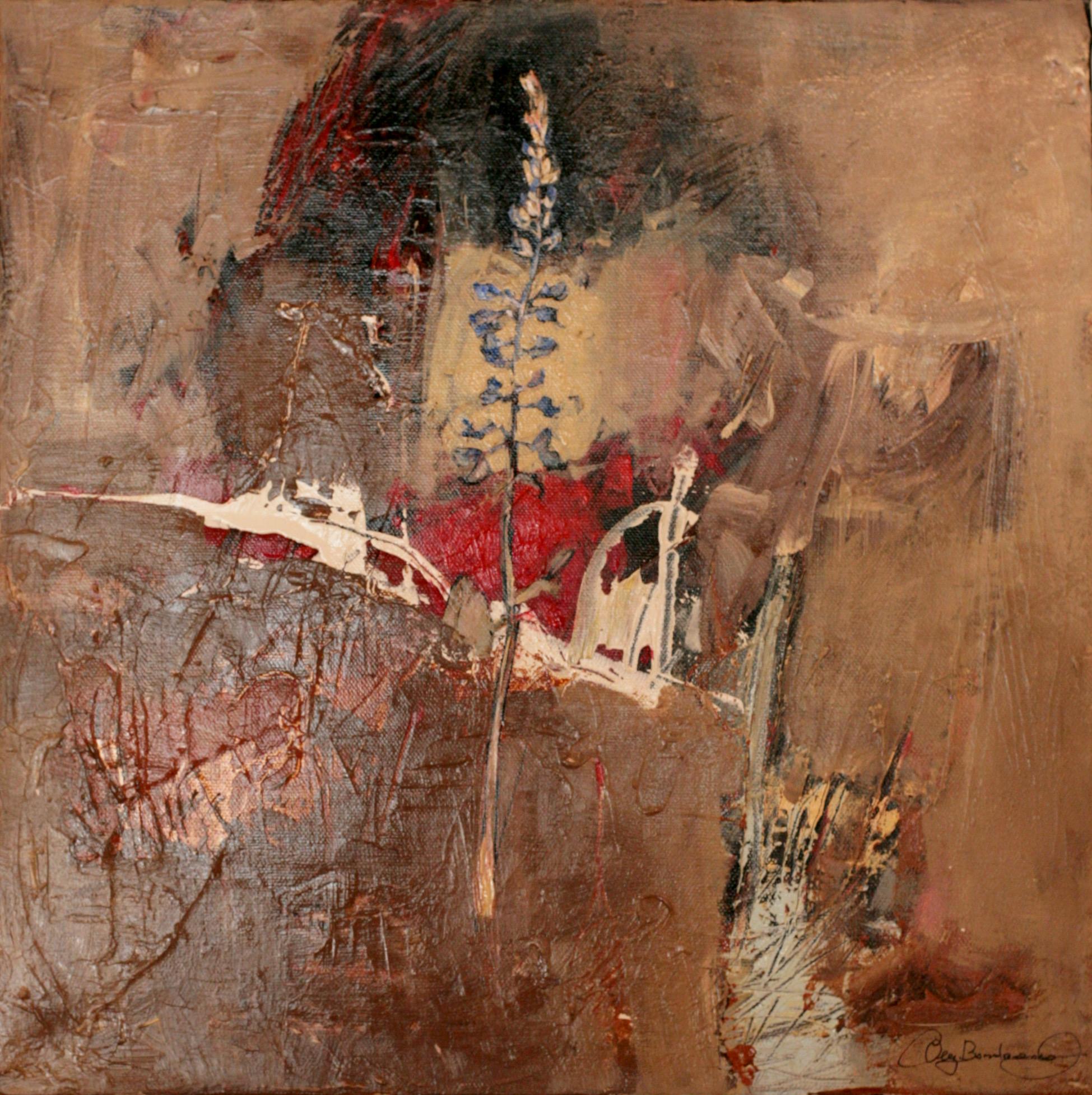 Oleg Bondarenko - Secret dance of nature VII, oil painting