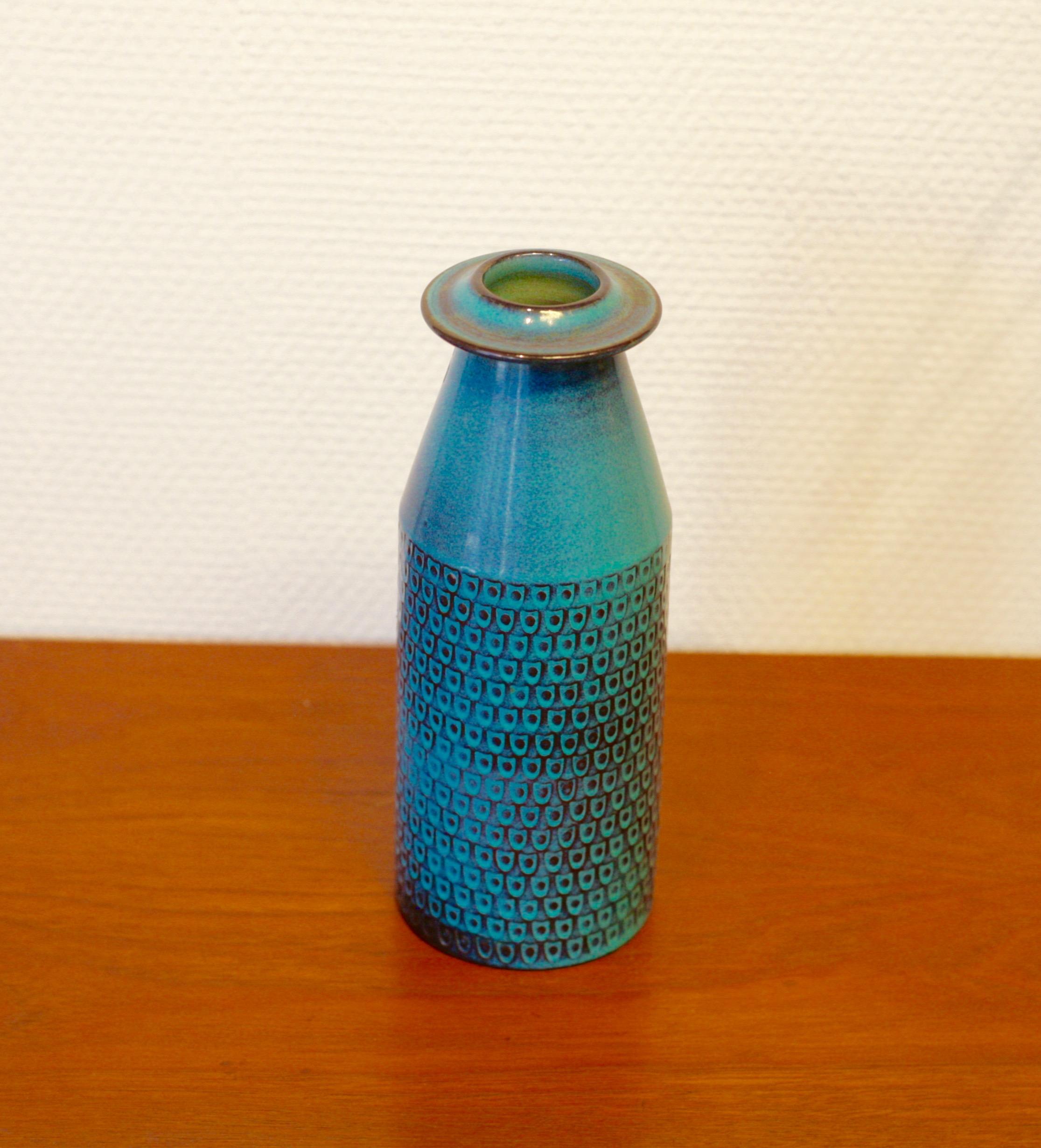 Ceramic vase by Stig Lindberg for Gustavsberg