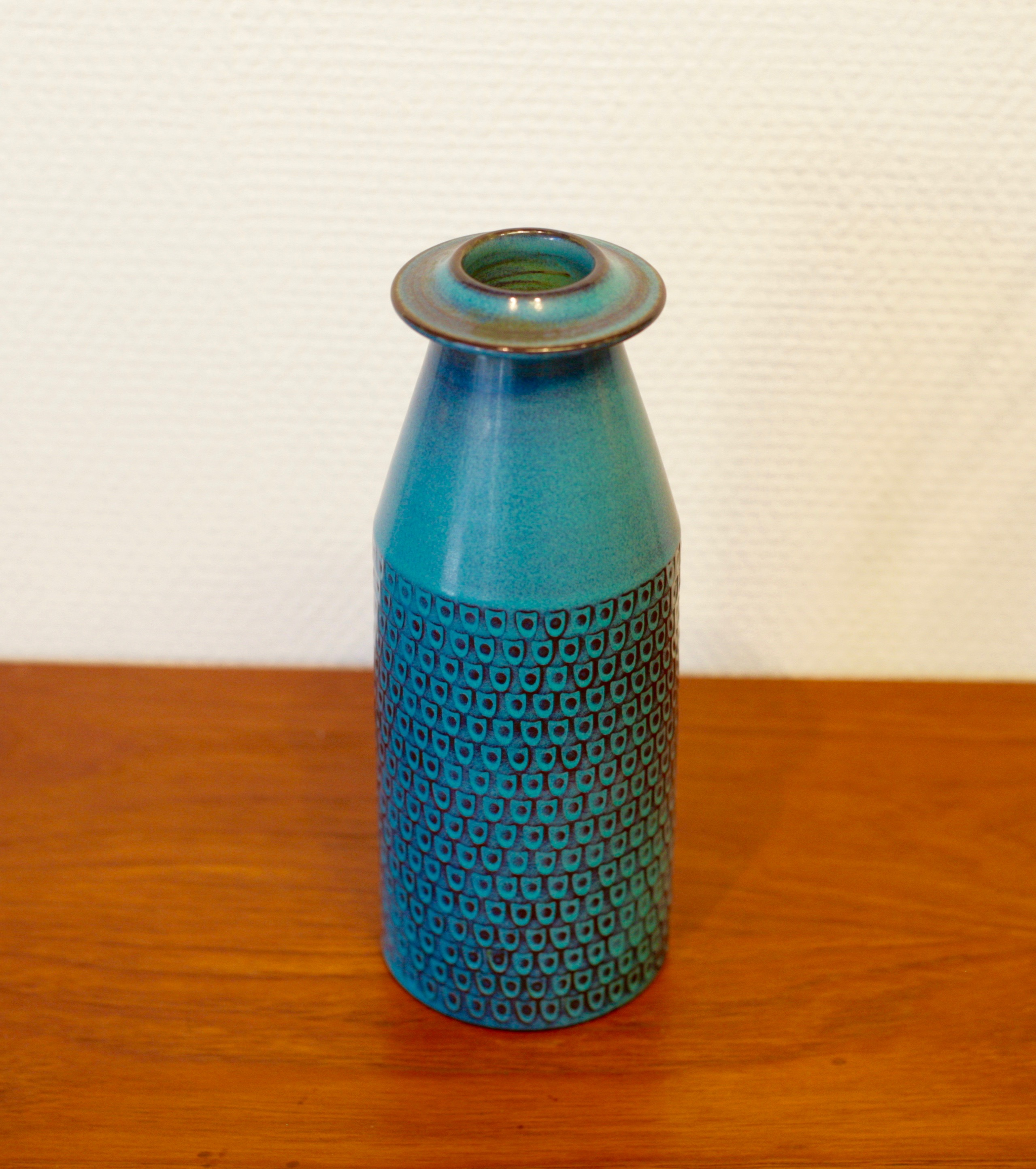 Ceramic vase by Stig Lindberg for Gustavsberg