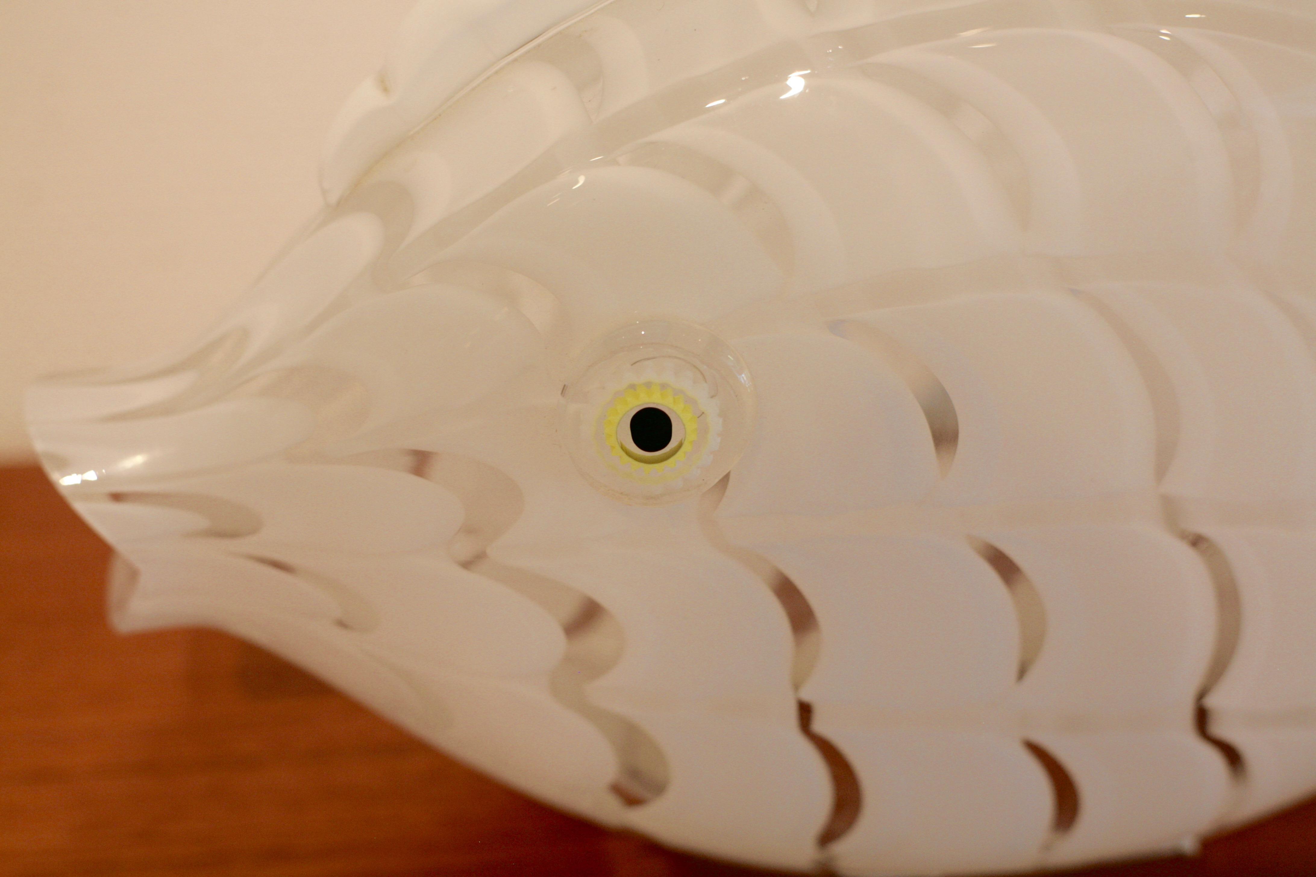 Fish lamp by Gino Vistosi