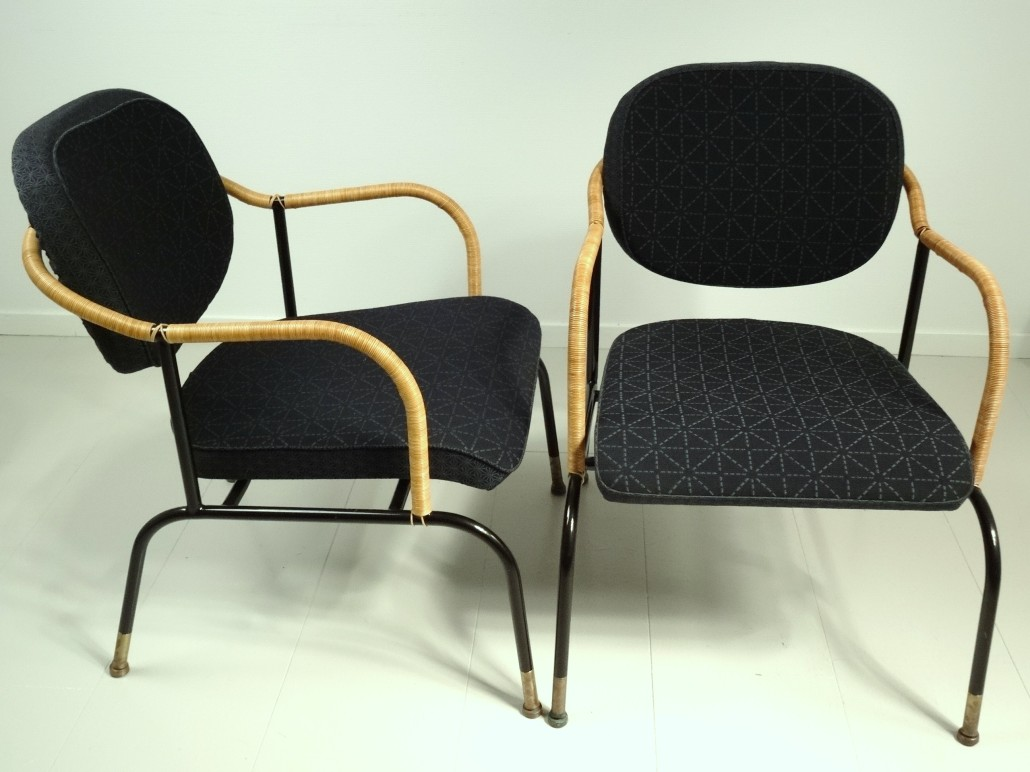 Bamboo King chairs by Mats Theselius