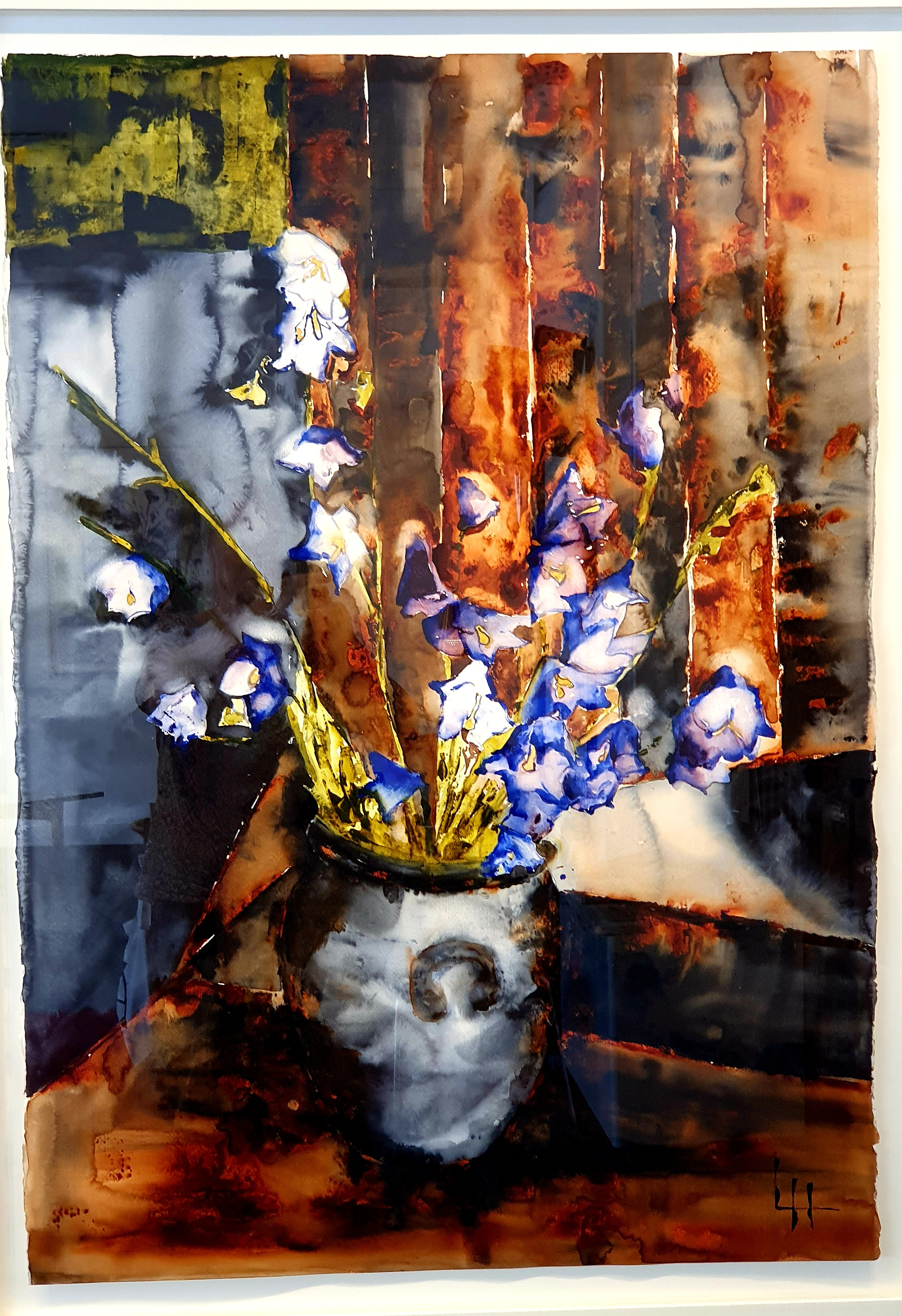 Lena Hoel - Nostalgi, akvarell