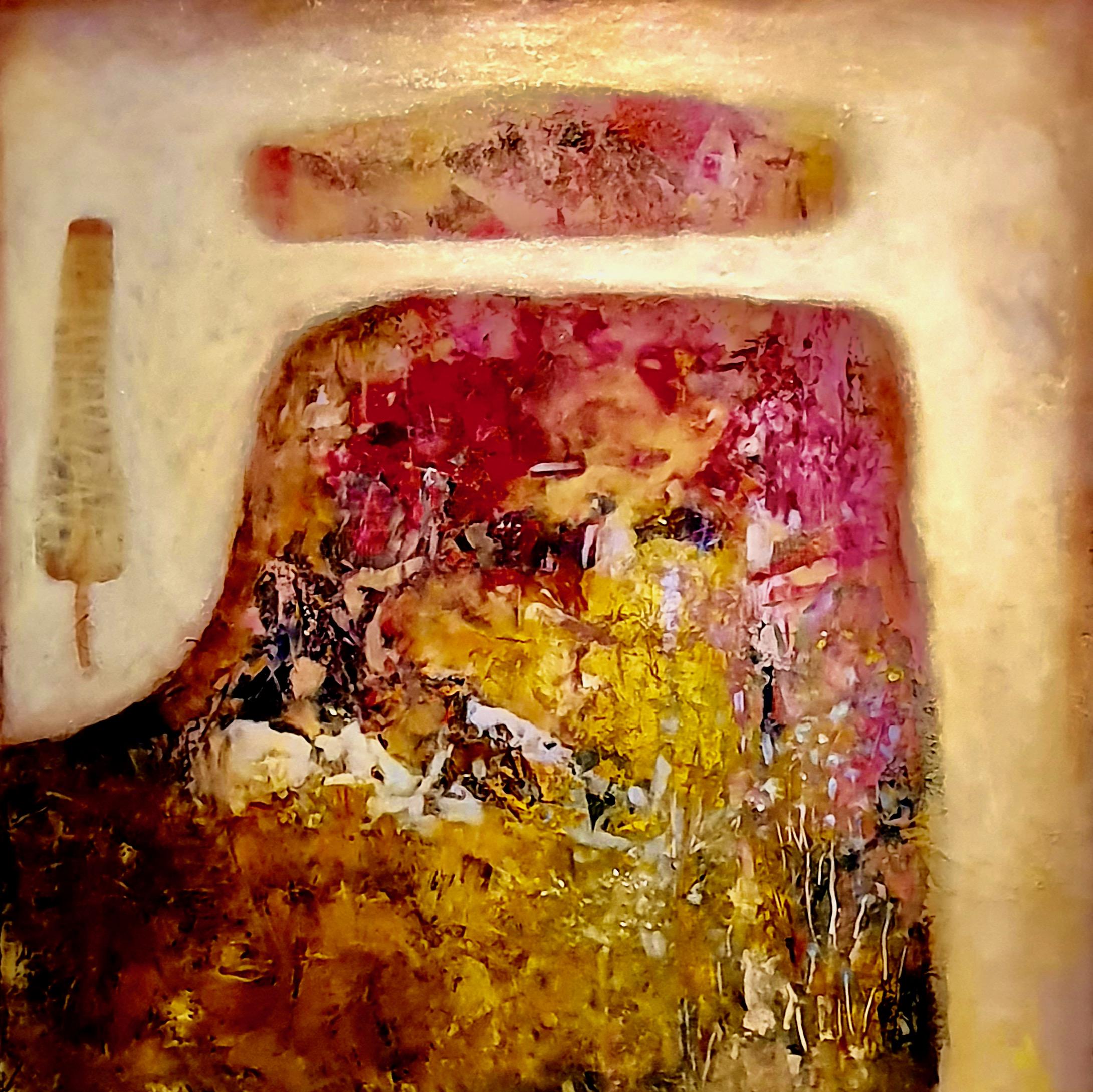 Oleg Bondarenko - Spring mountain, oil painting