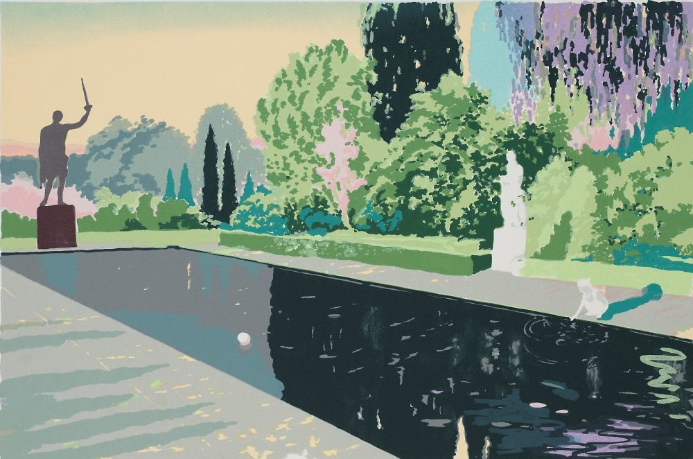 Joakim Allgulander - A thousand year, screen prints