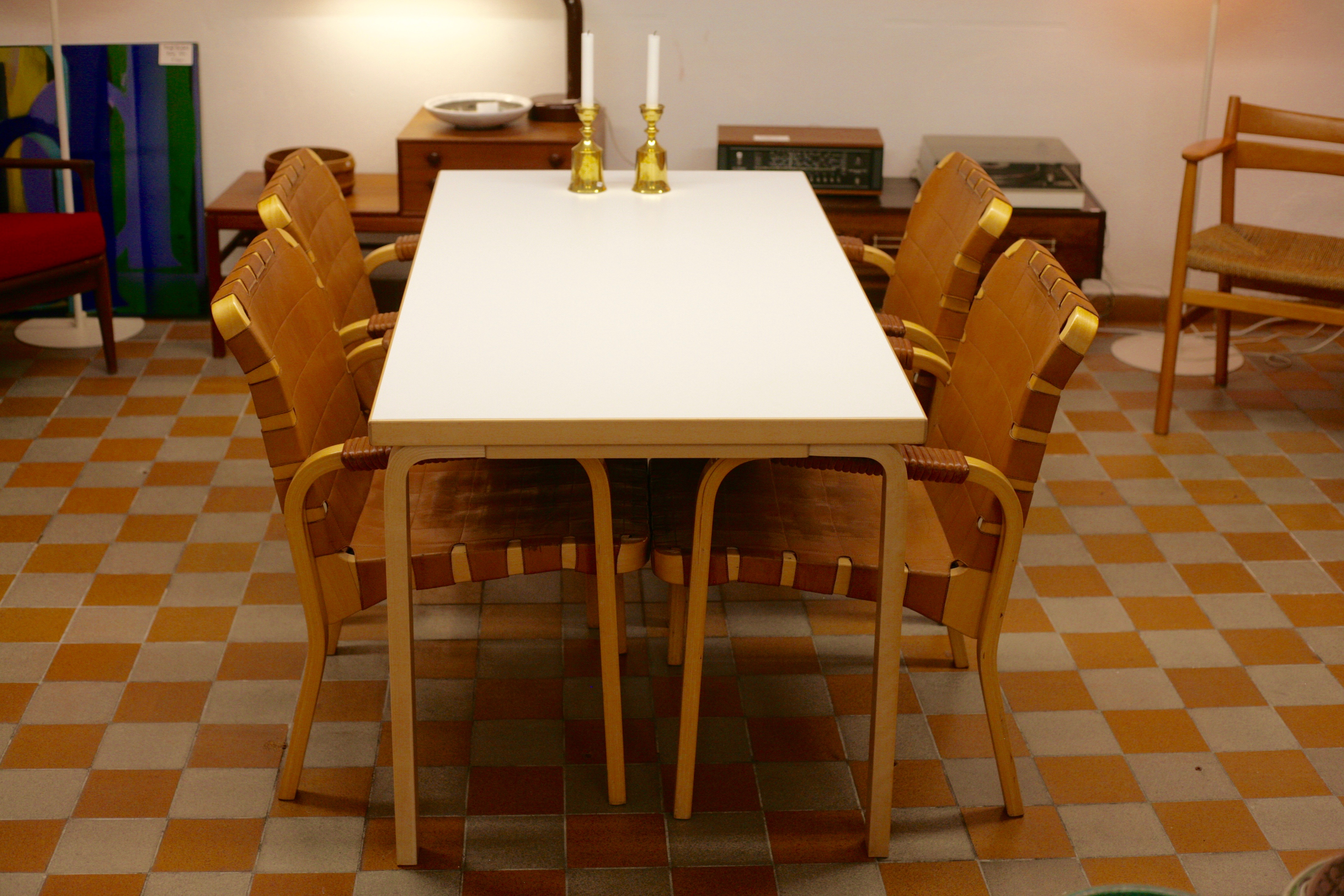 Alvar Aalto dining table model 83