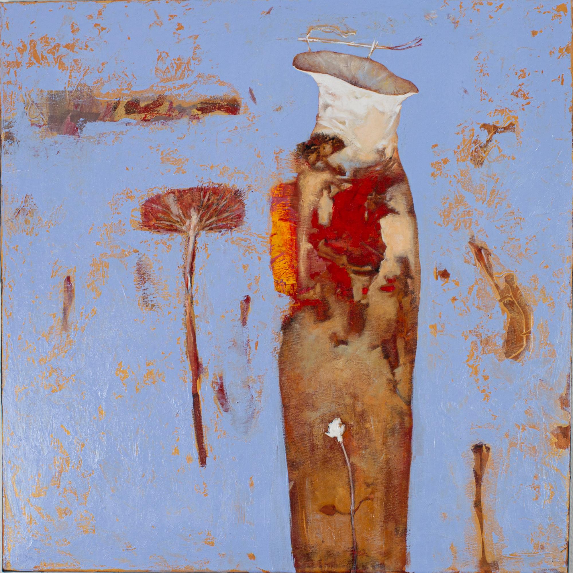 Oleg Bondarenko - Organic vase I, oil painting