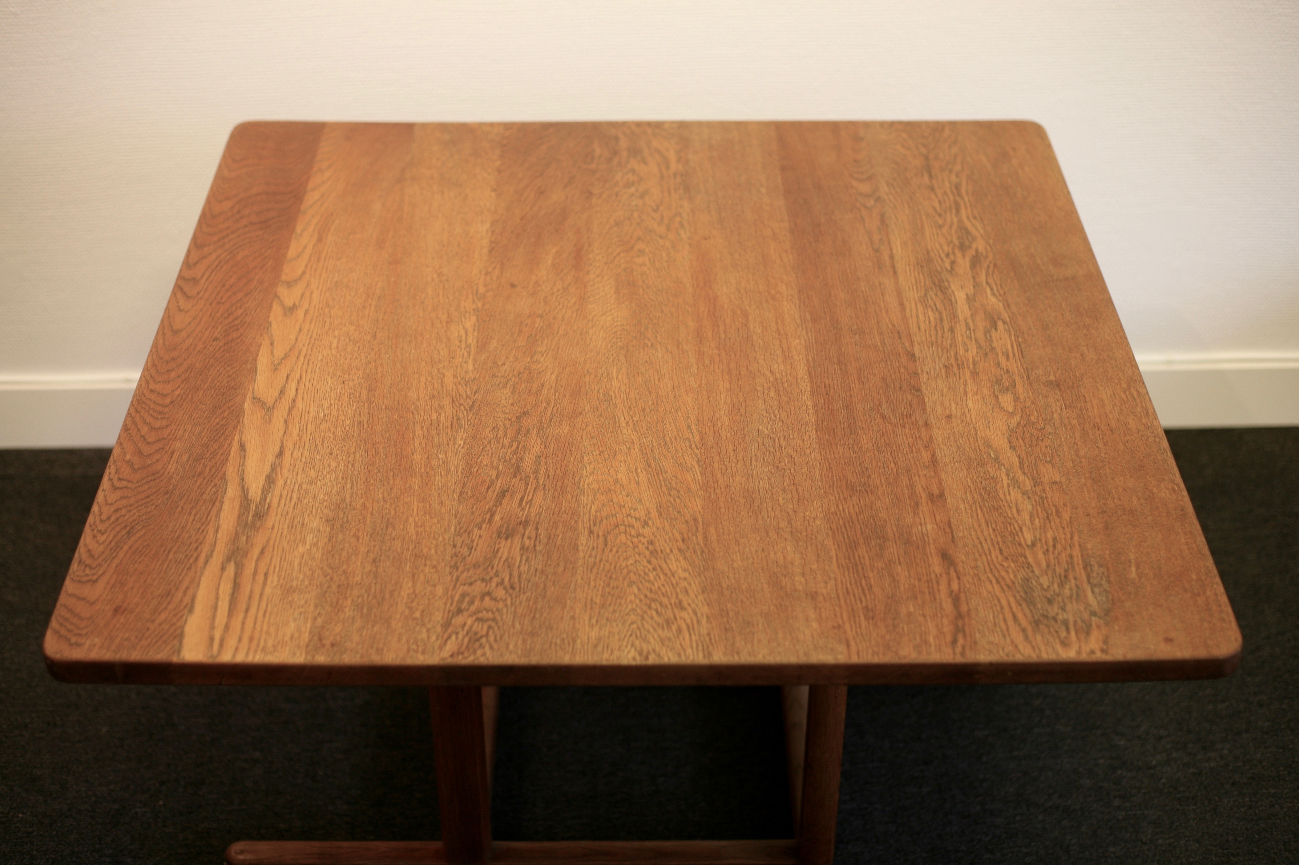 Coffee table, model 5271 in massive oak, by Börge Mogensen for Fredericia