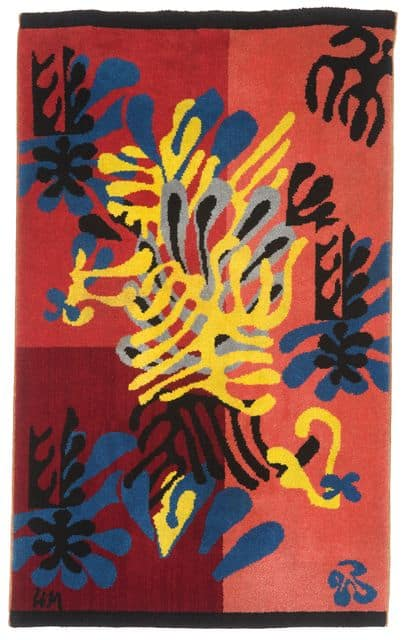 Henri Matisse tapestry Mimosa