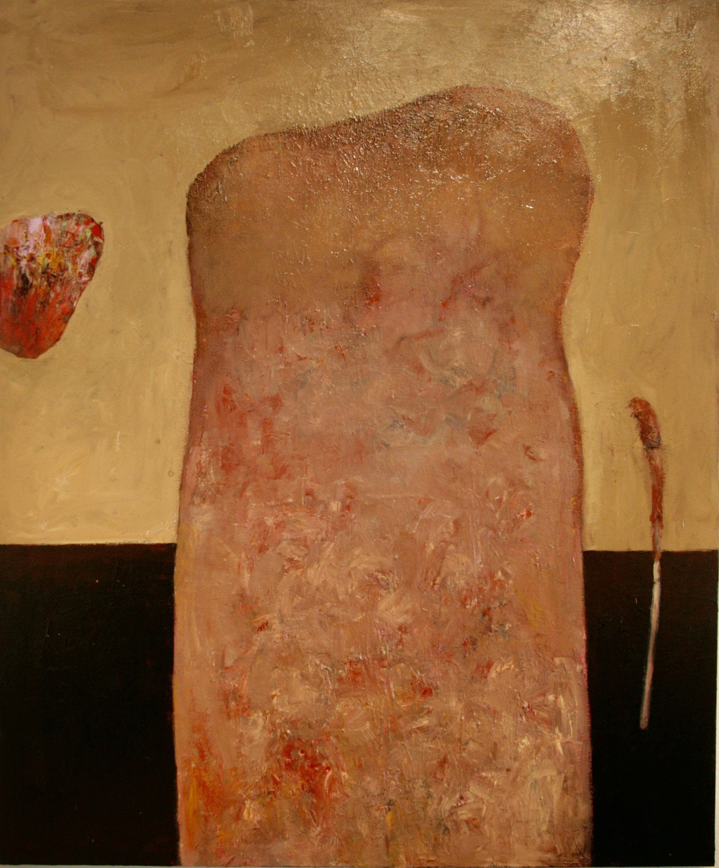 Oleg Bondarenko - Rauk, oil painting