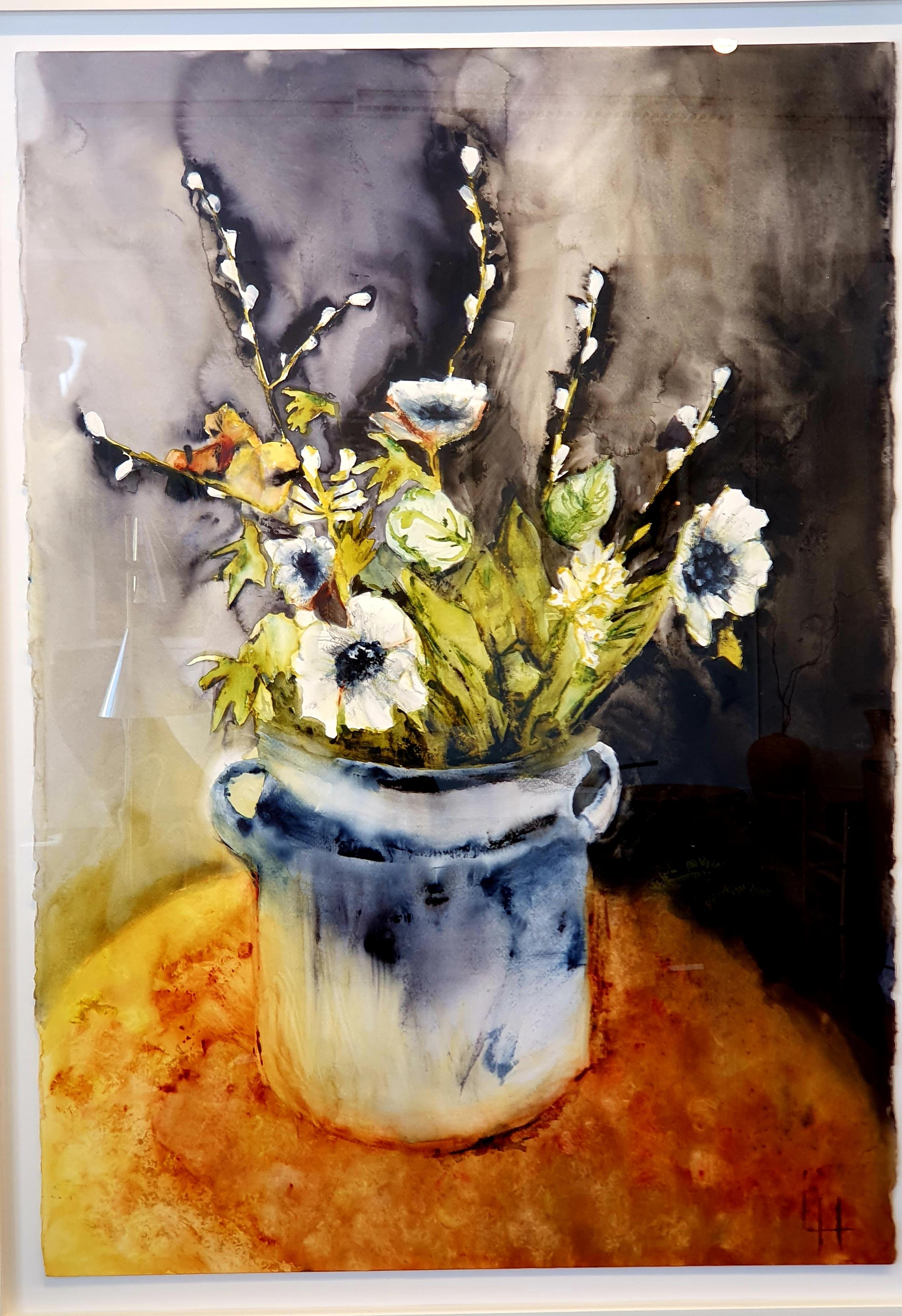 Lena Hoel - Värme, akvarell