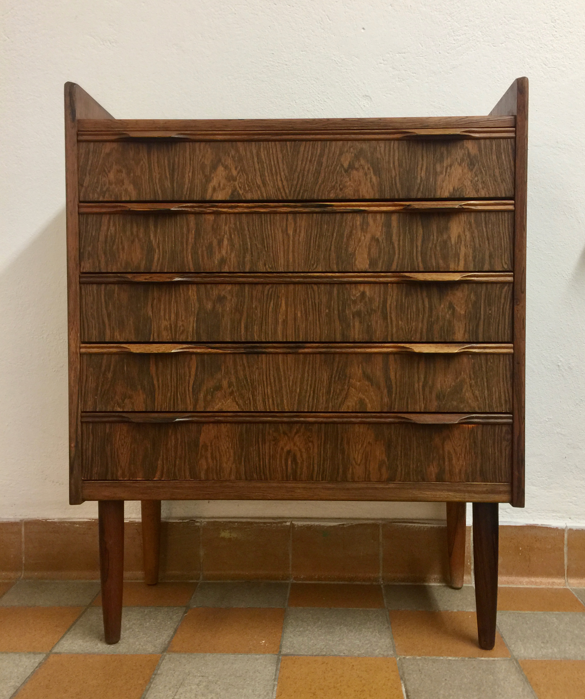 Chest of drawers, Denmark, jacaranda