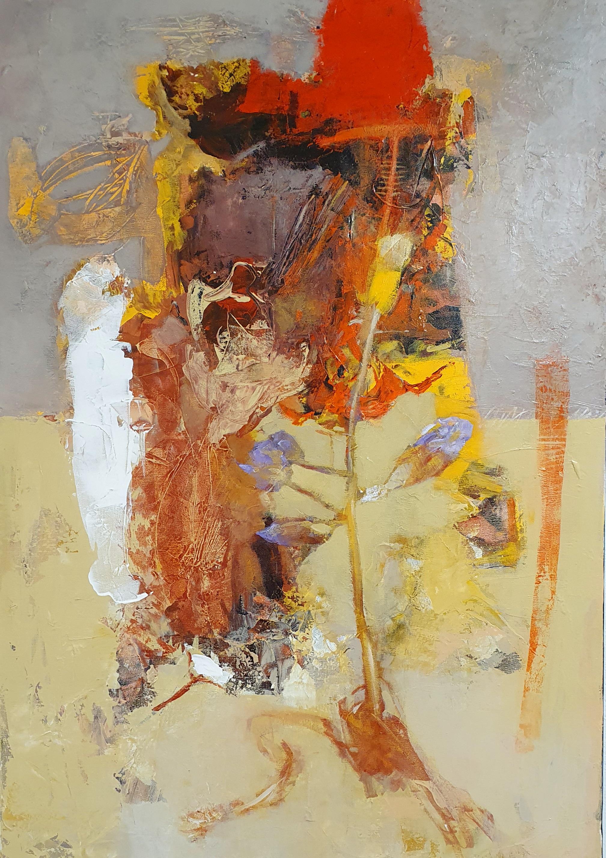 Oleg Bondarenko - Secret dance of nature VI, oil painting