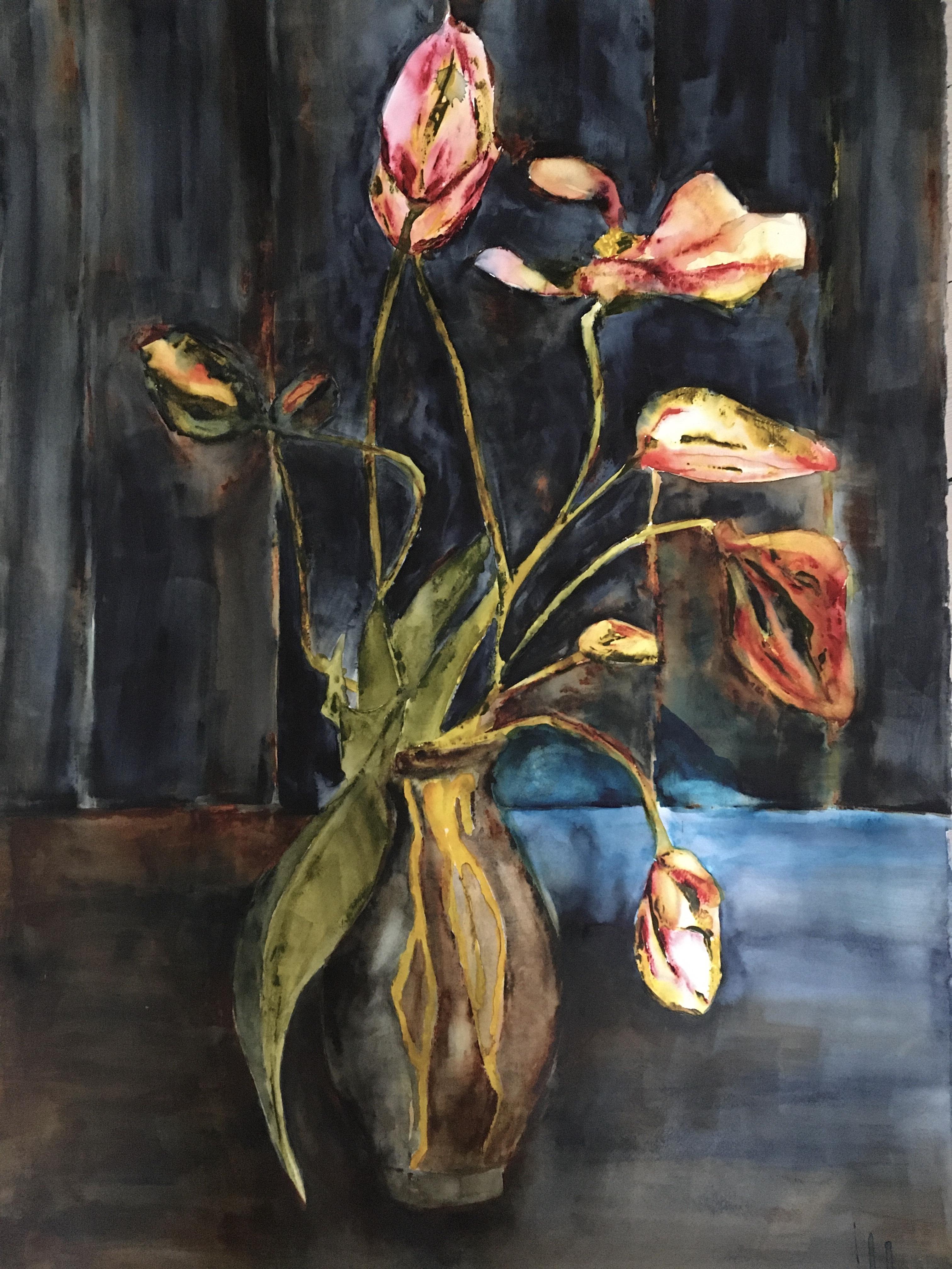 Lena Hoel - Mammas vas, akvarell