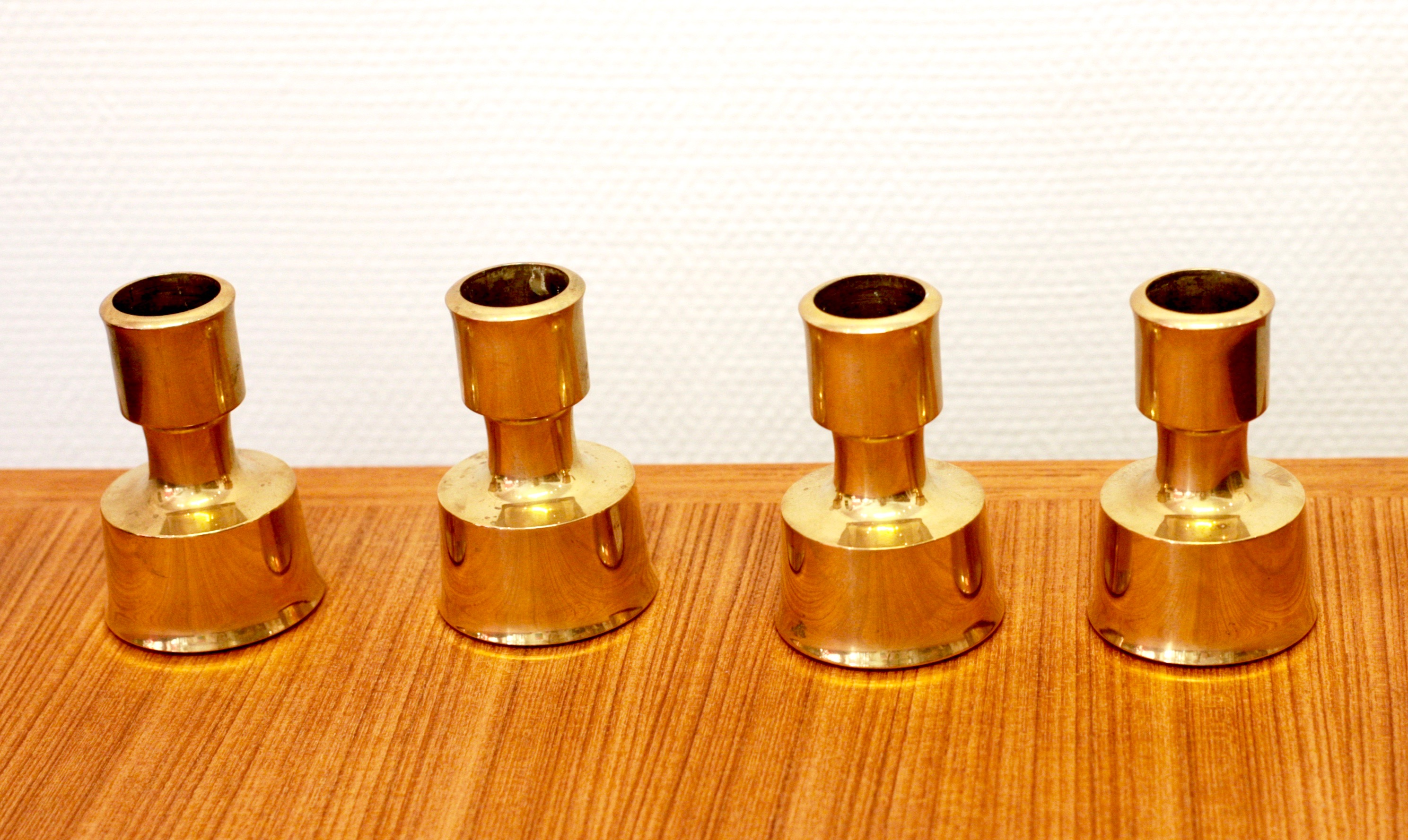 Jens H Quistgaard - Set of 4 candle holders