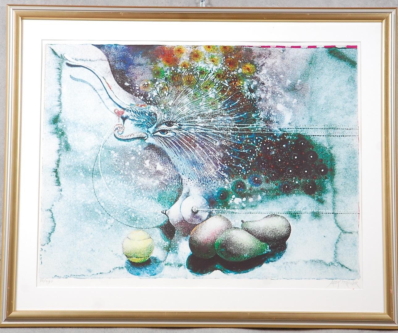 Ardy Strywer färglitografi