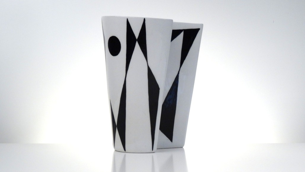 Ceramic vase 'Abstrakta' by Carl-Harry Stålhane