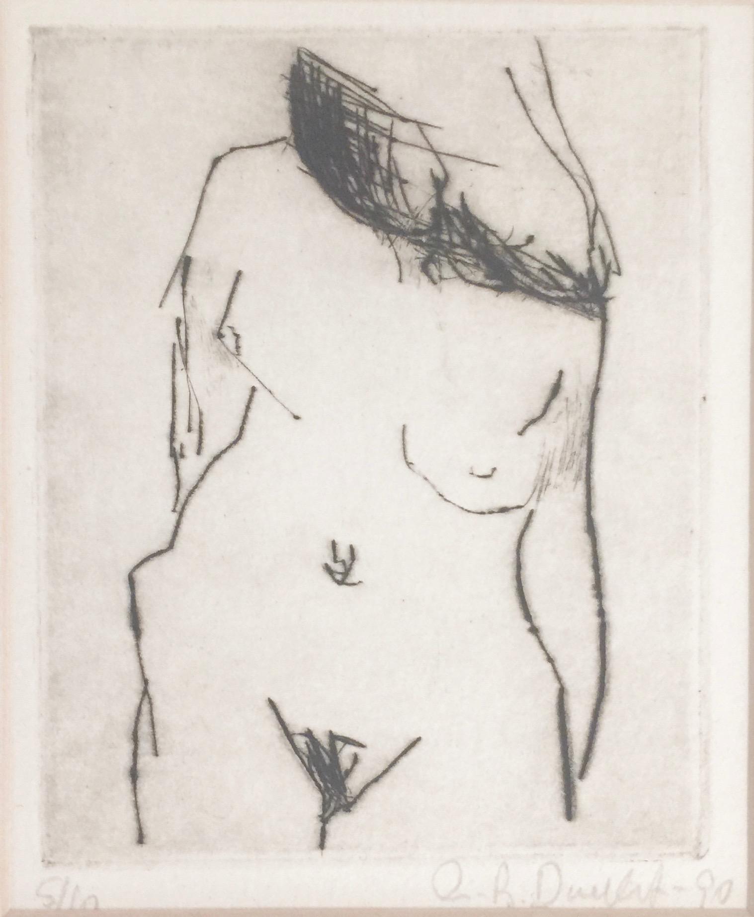 Angela Brignone Duckert - Nude no 1
