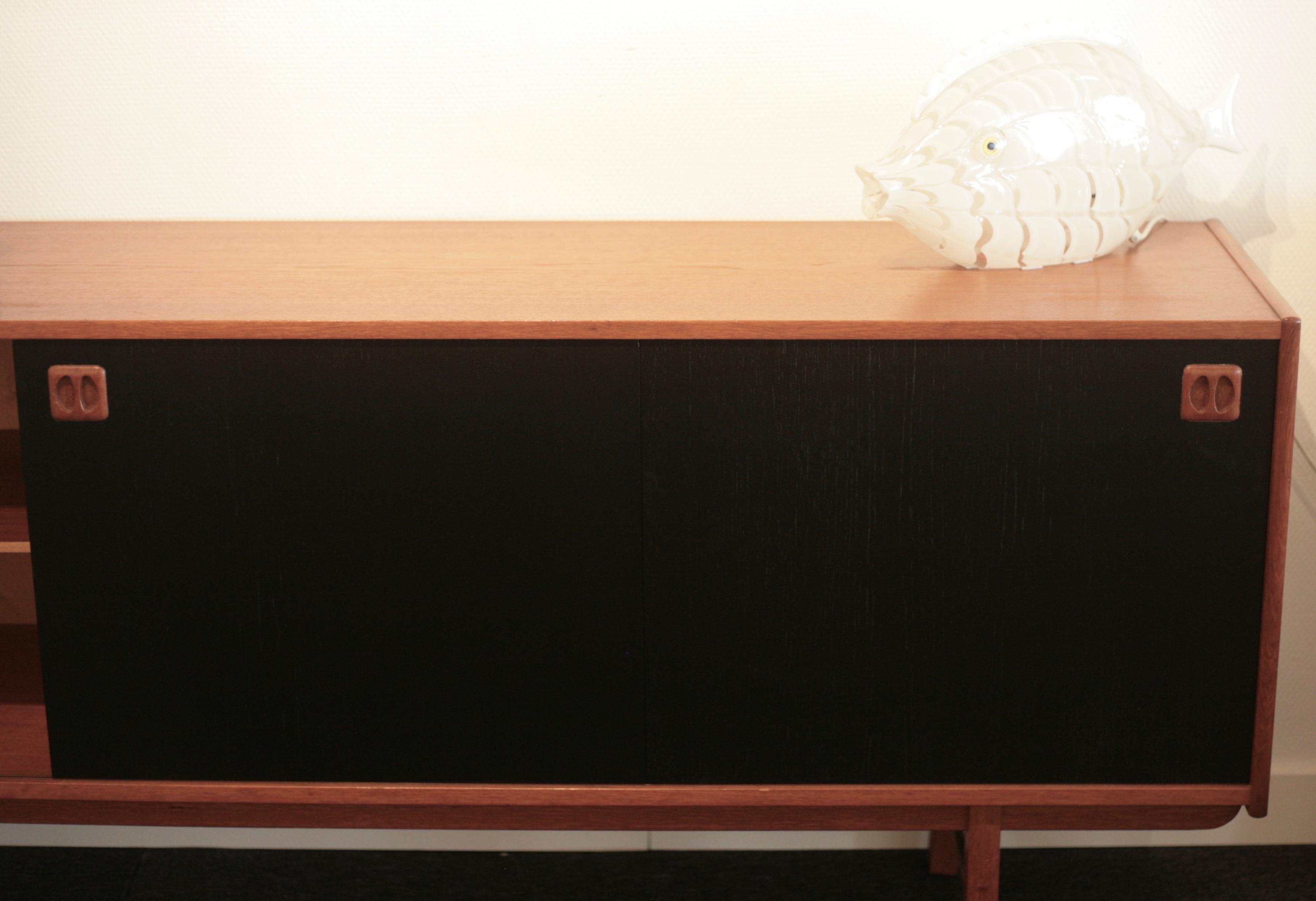 Teak sideboard by Erik Wörtz