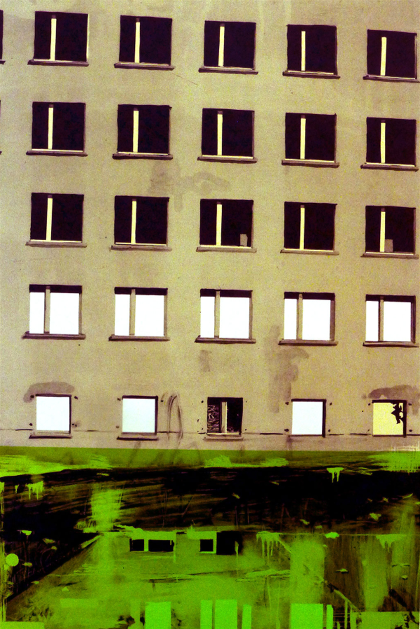 Joakim Allgulander - Prora Inn, colour lithograpg