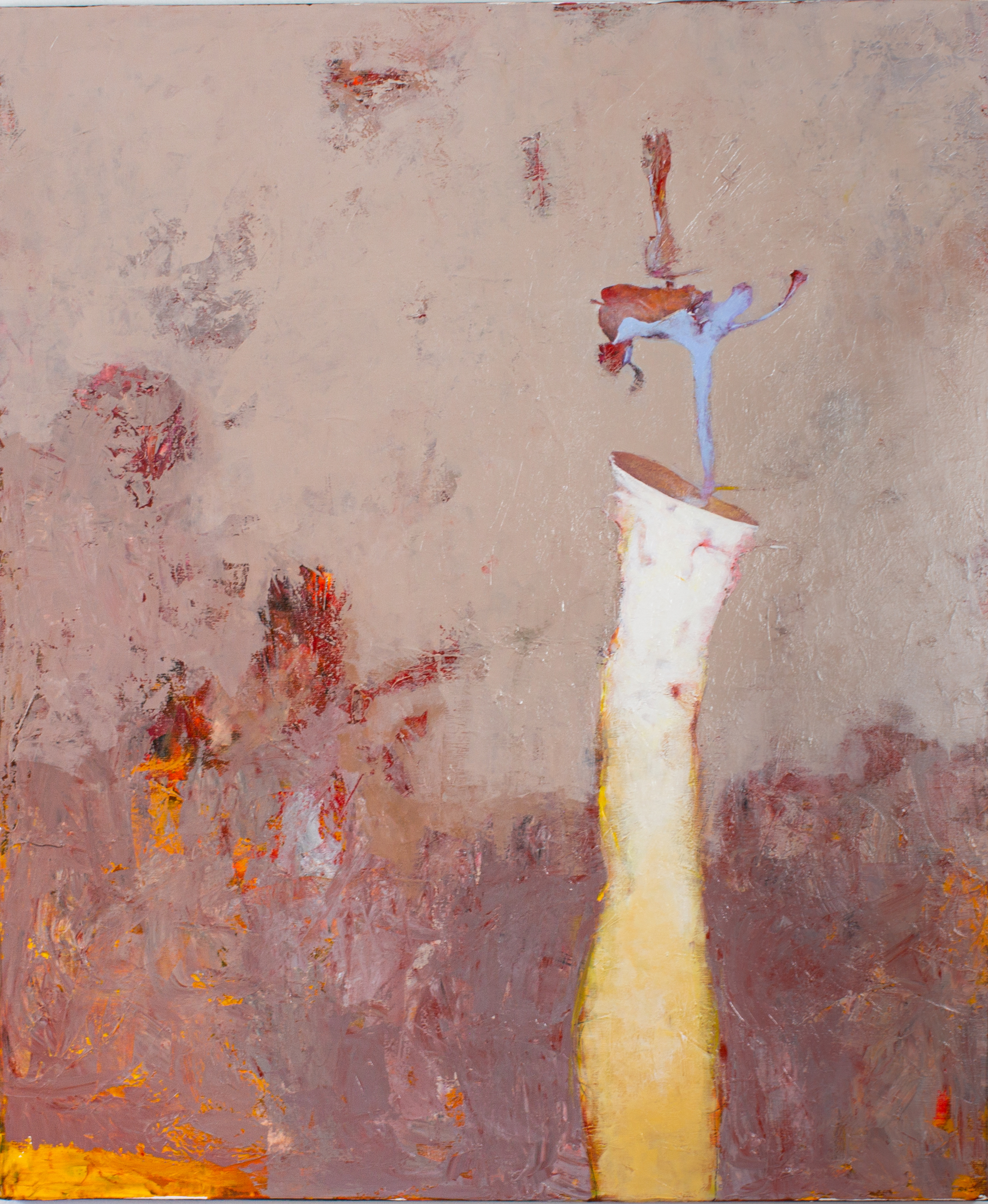 Oleg Bondarenko - Organic vase II, oil painting