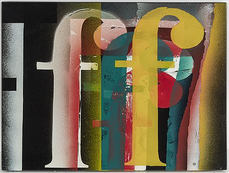 Bengt Berglund - f, enamel picture