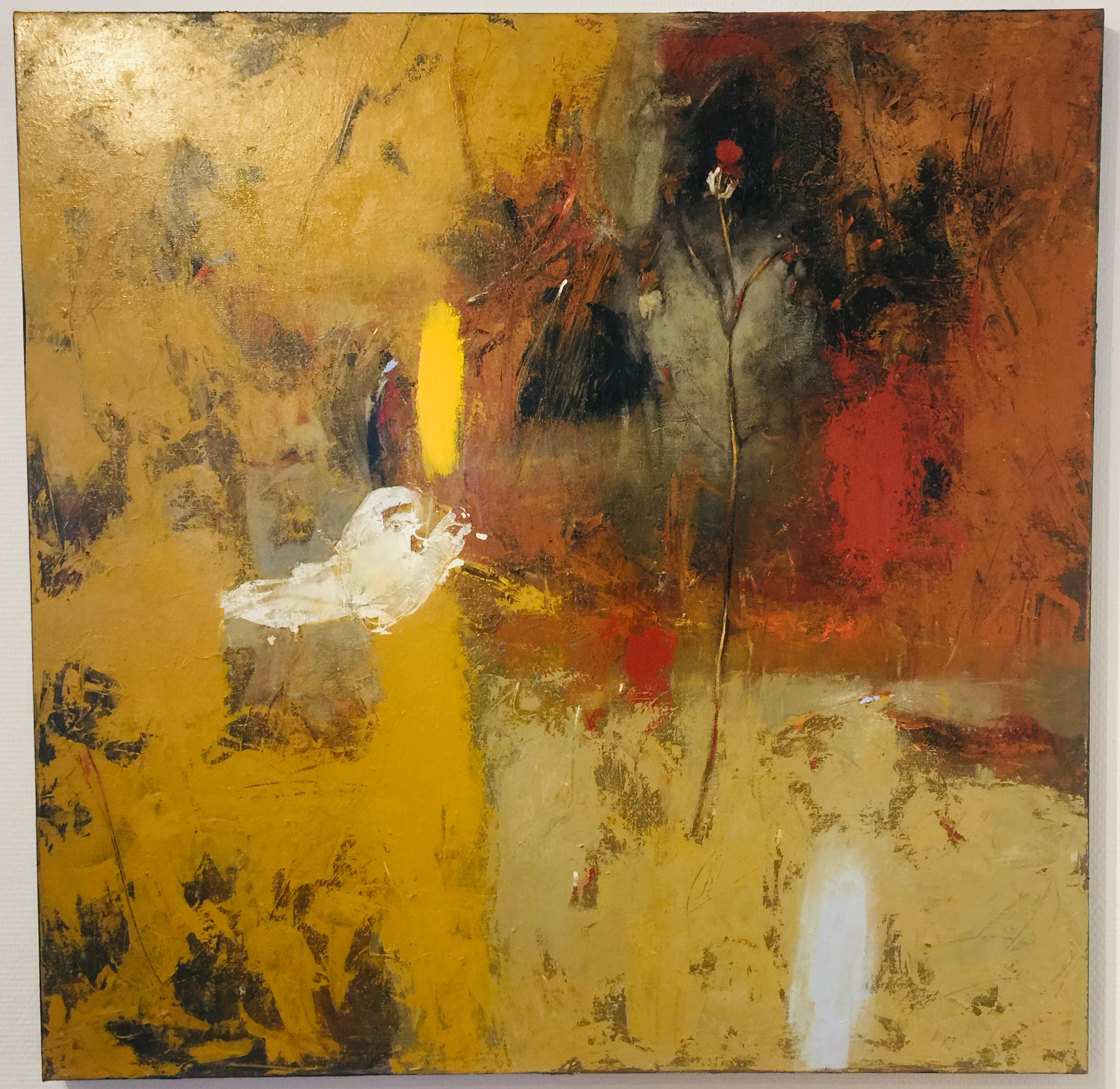Oleg Bondarenko-Secret dance of Nature III, oil painting